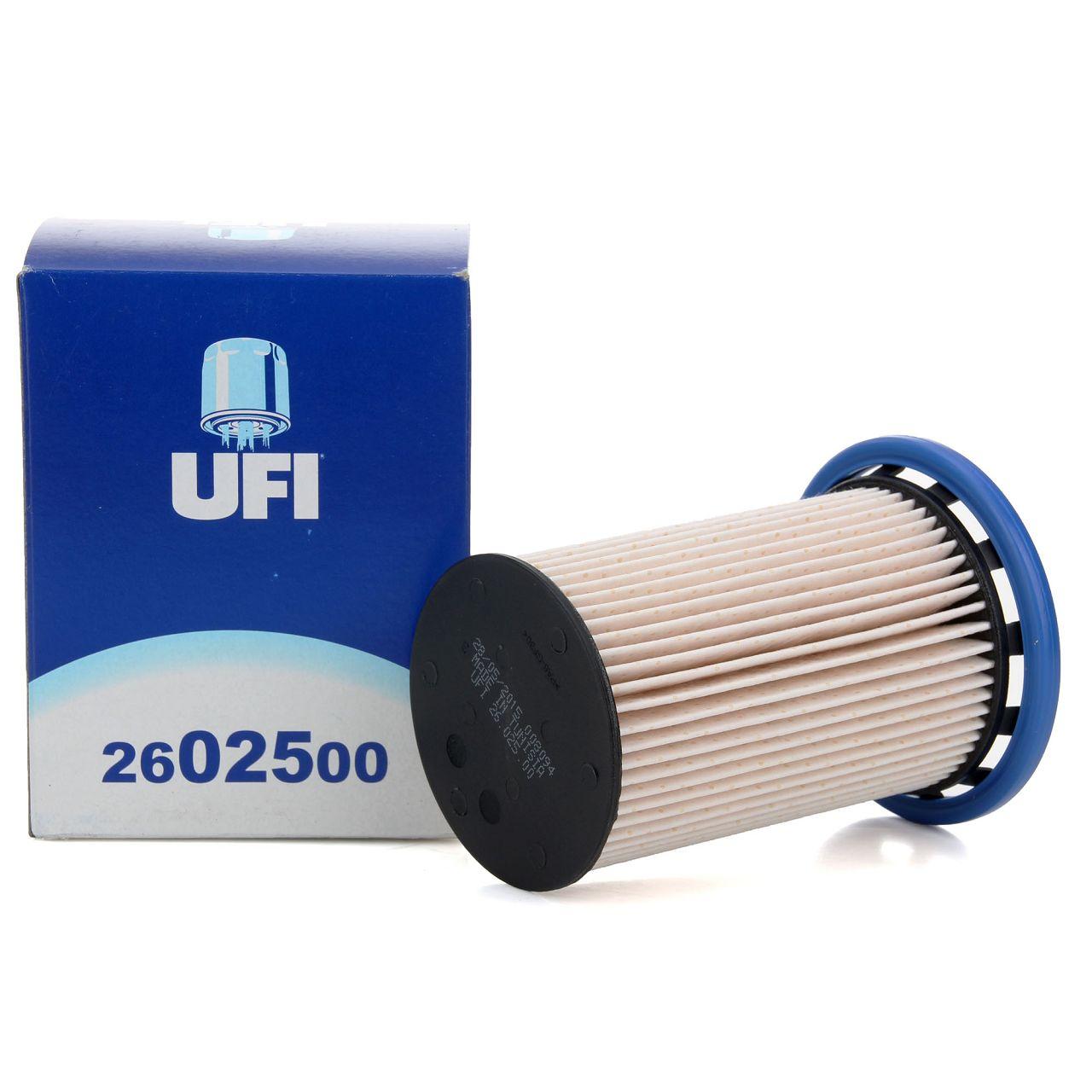 UFI Kraftstofffilter Dieselfilter 26.025.00 für Porsche Cayenne VW Touareg TDI