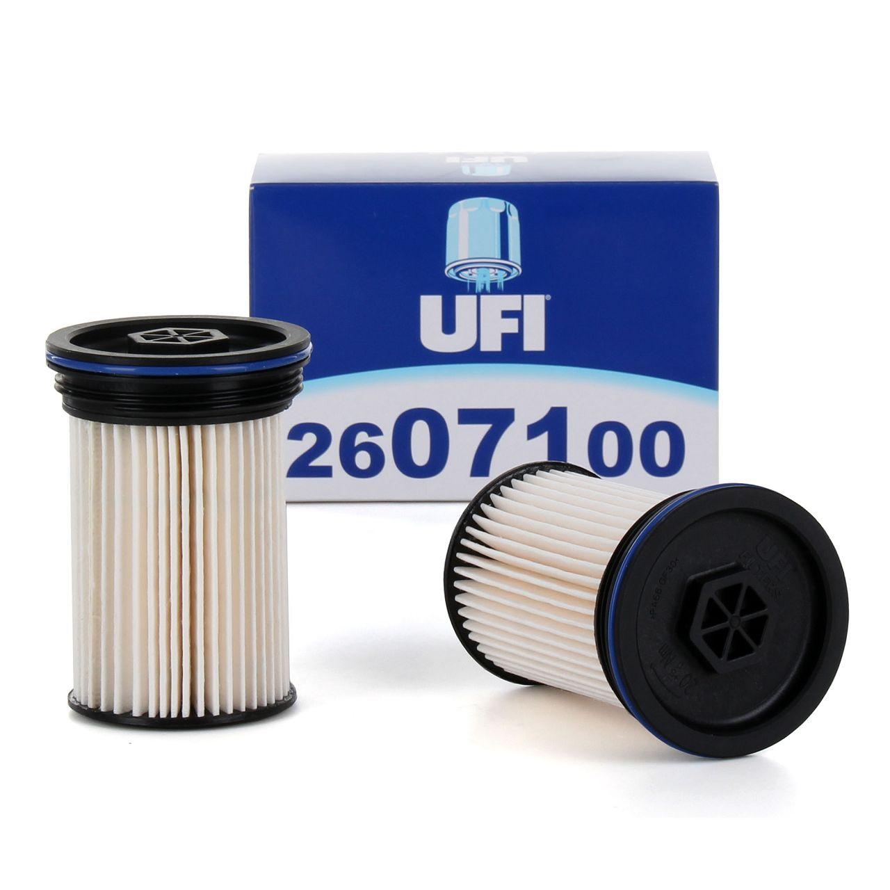 2x UFI Dieselfilter für CHEVROLET CAPTIVA 2.2 D OPEL ANTARA 2.2 CDTi