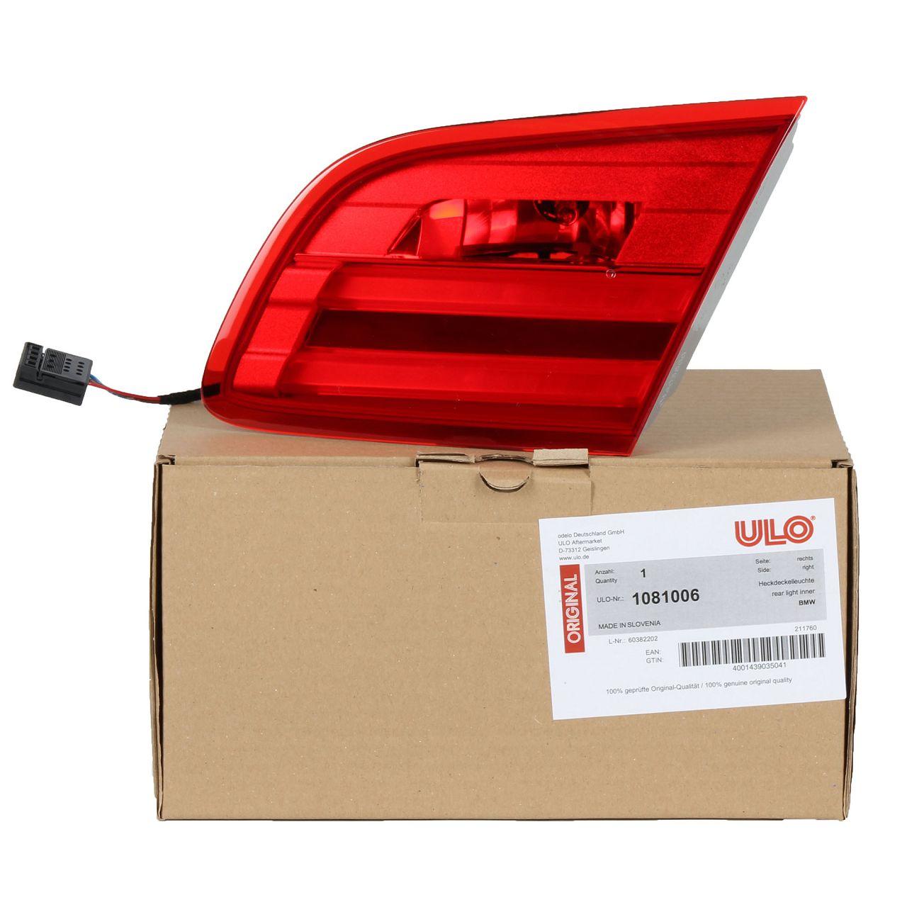ULO Heckleuchte Rückleuchte LED für BMW 3er CABRIO E93 Facelift INNEN RECHTS