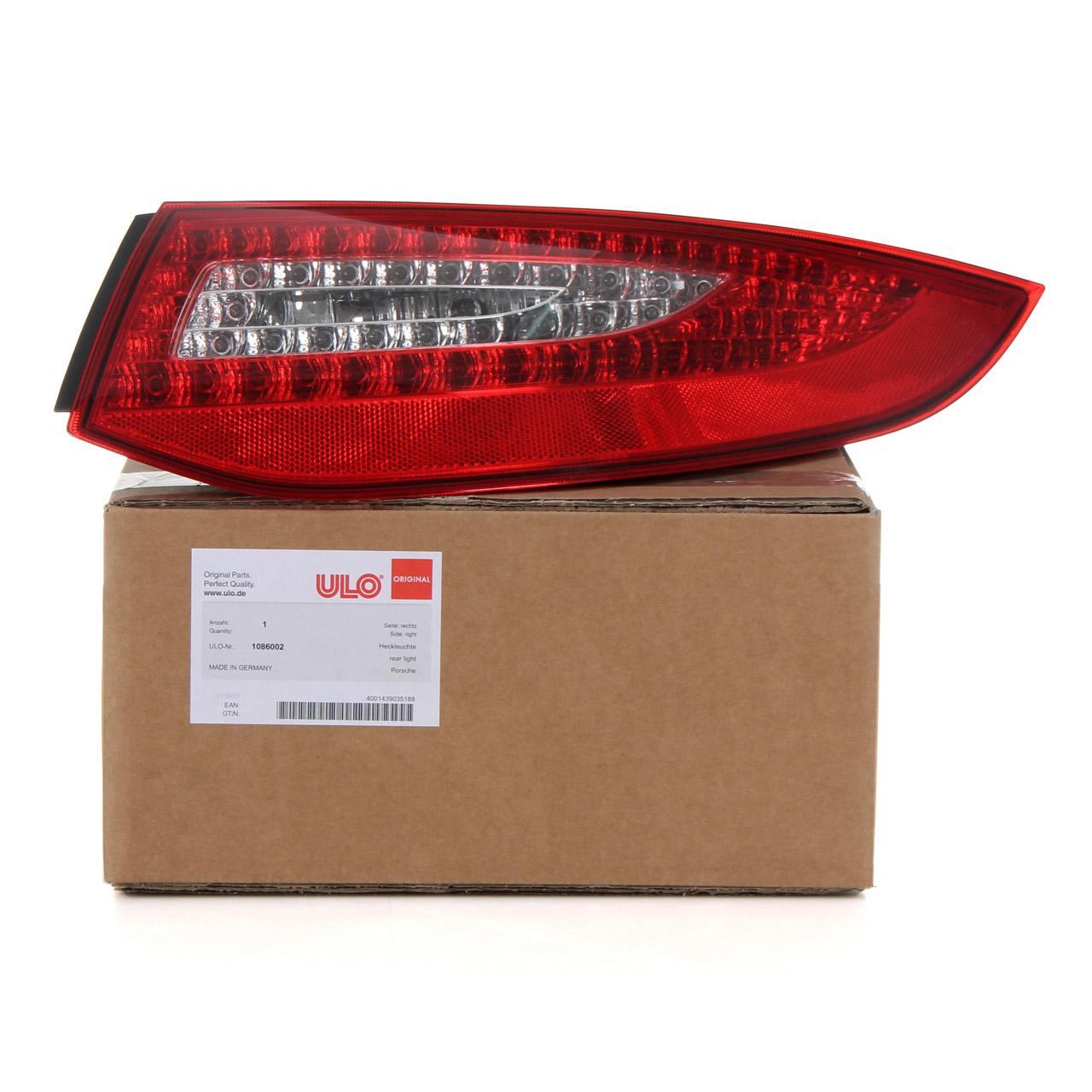 ULO Heckleuchte Rücklicht LED EU-Version für PORSCHE 997 FACELIFT ab 2008 rechts
