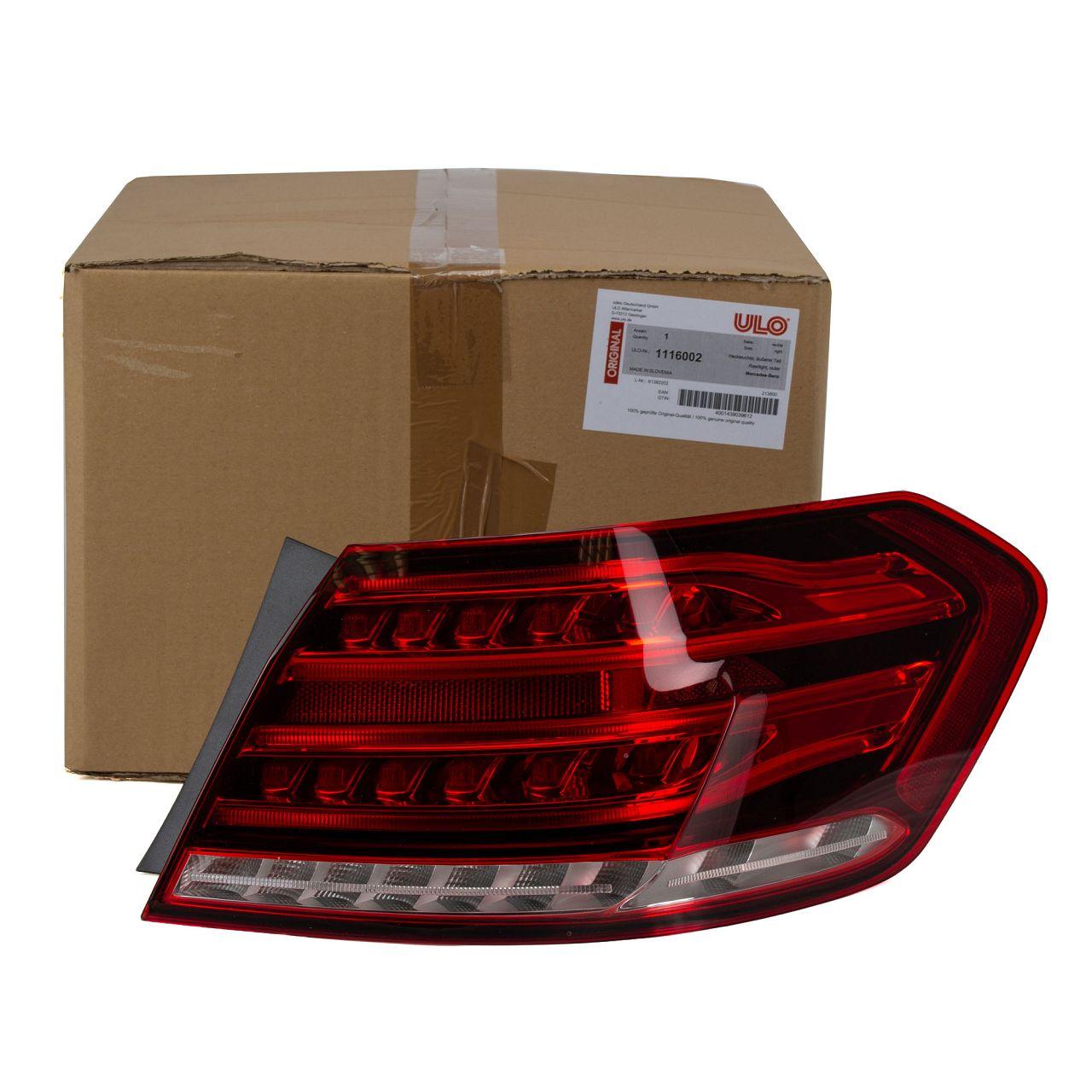 ULO Heckleuchte Rückleuchte für MERCEDES E-KLASSE W212 ab 07.2013 aussen rechts