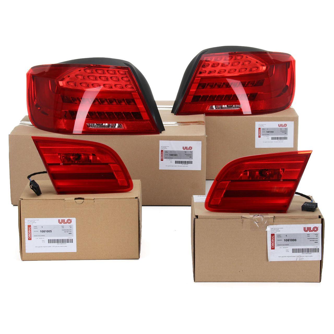ULO Heckleuchten Rückleuchten LED Set für BMW 3er CABRIO E93 Facelift