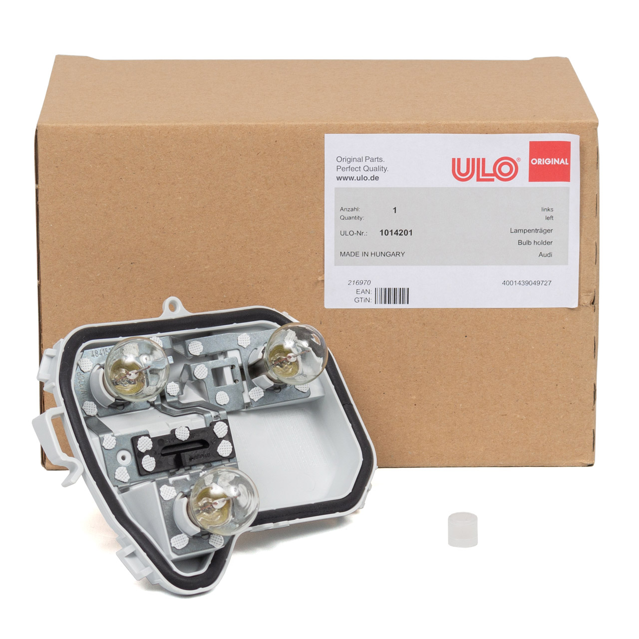 ULO Lampenträger Heckleuchte + Glühlampen AUDI A4 Avant (B7 8E) links außen 8E9945257B