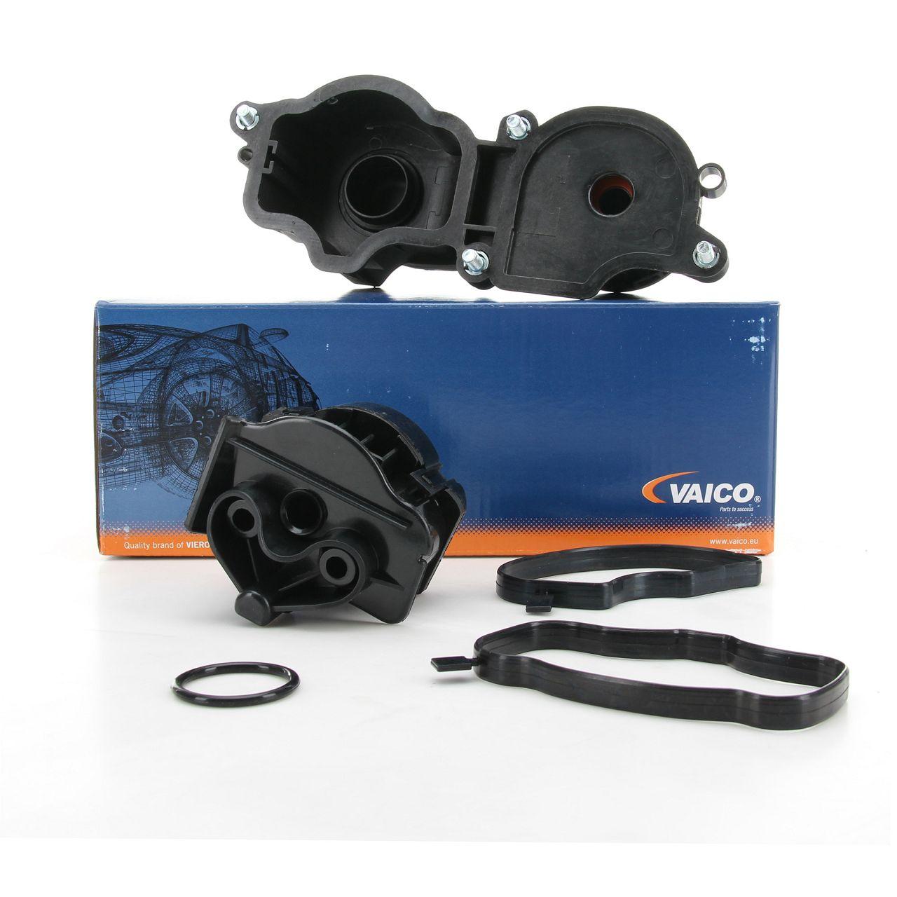 VAICO Ölabscheider Kurbelgehäuseentlüftung BMW E81 E87 E46 E90 E60 N47 M47