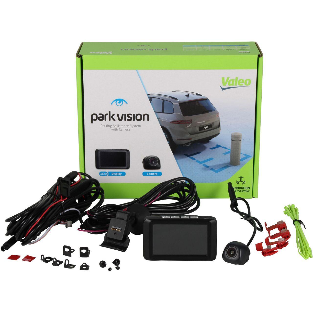 VALEO 632210 ParkVision Einparkhilfe Rückfahrkamera Kamera mit TFT Display