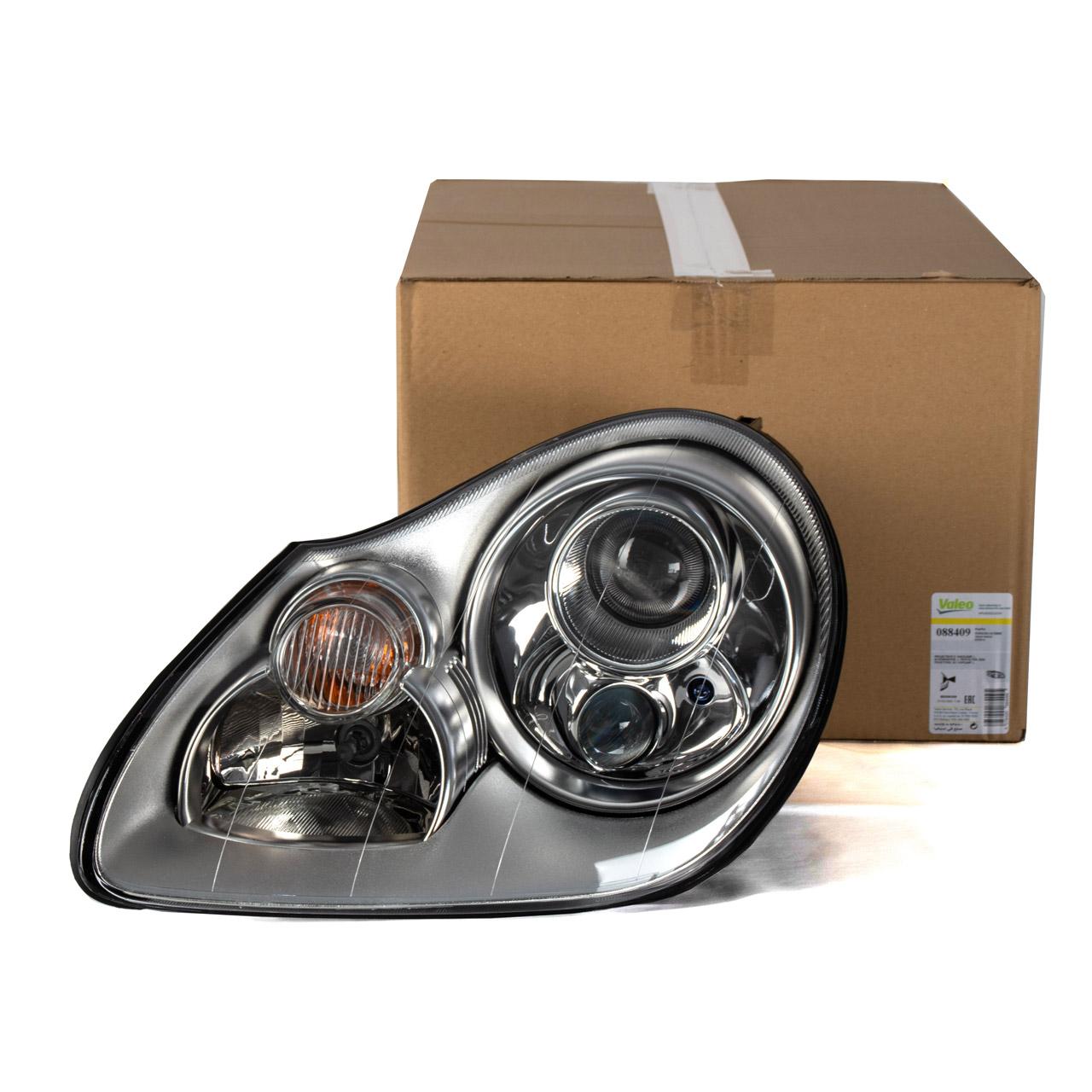 VALEO Hauptscheinwerfer BI-XENON für PORSCHE Cayenne 9PA links 95563115731