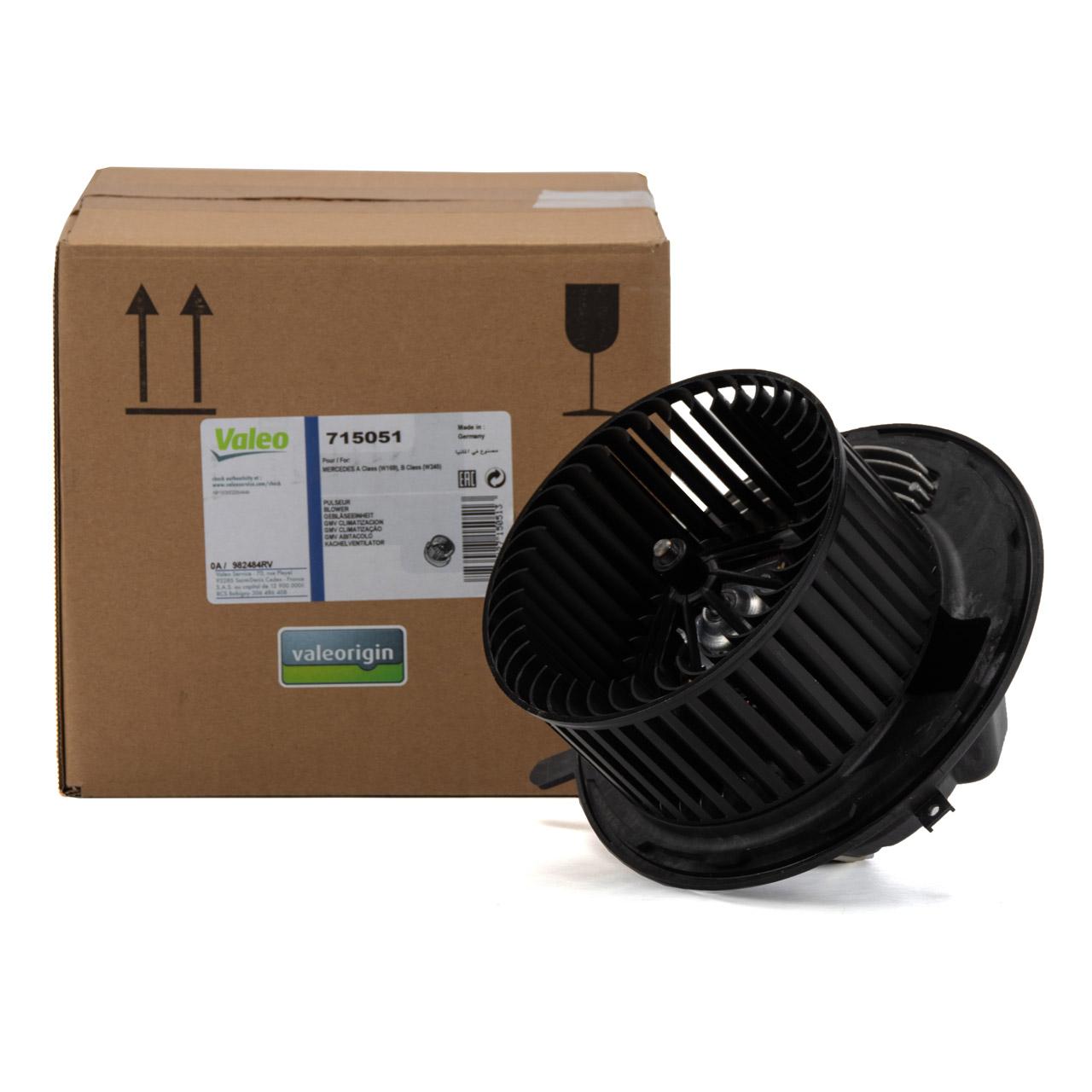 VALEO Innenraumgebläse MERCEDES-BENZ W169 W245 mit Klimaautomatik 1698201342