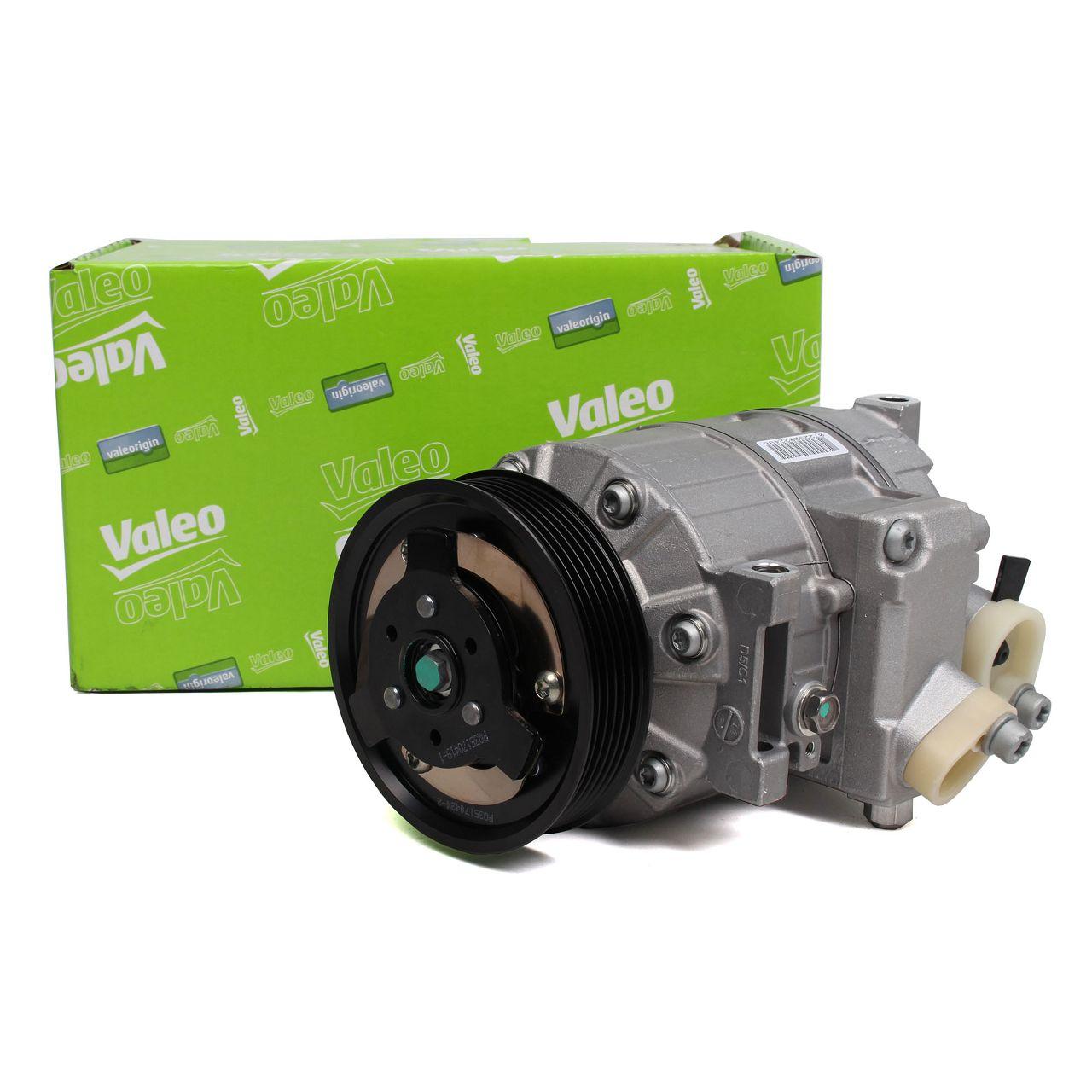 VALEO 699357 Kompressor Klimaanlage für AUDI A3 SEAT SKODA VW GOLF 5 6 7 PASSAT