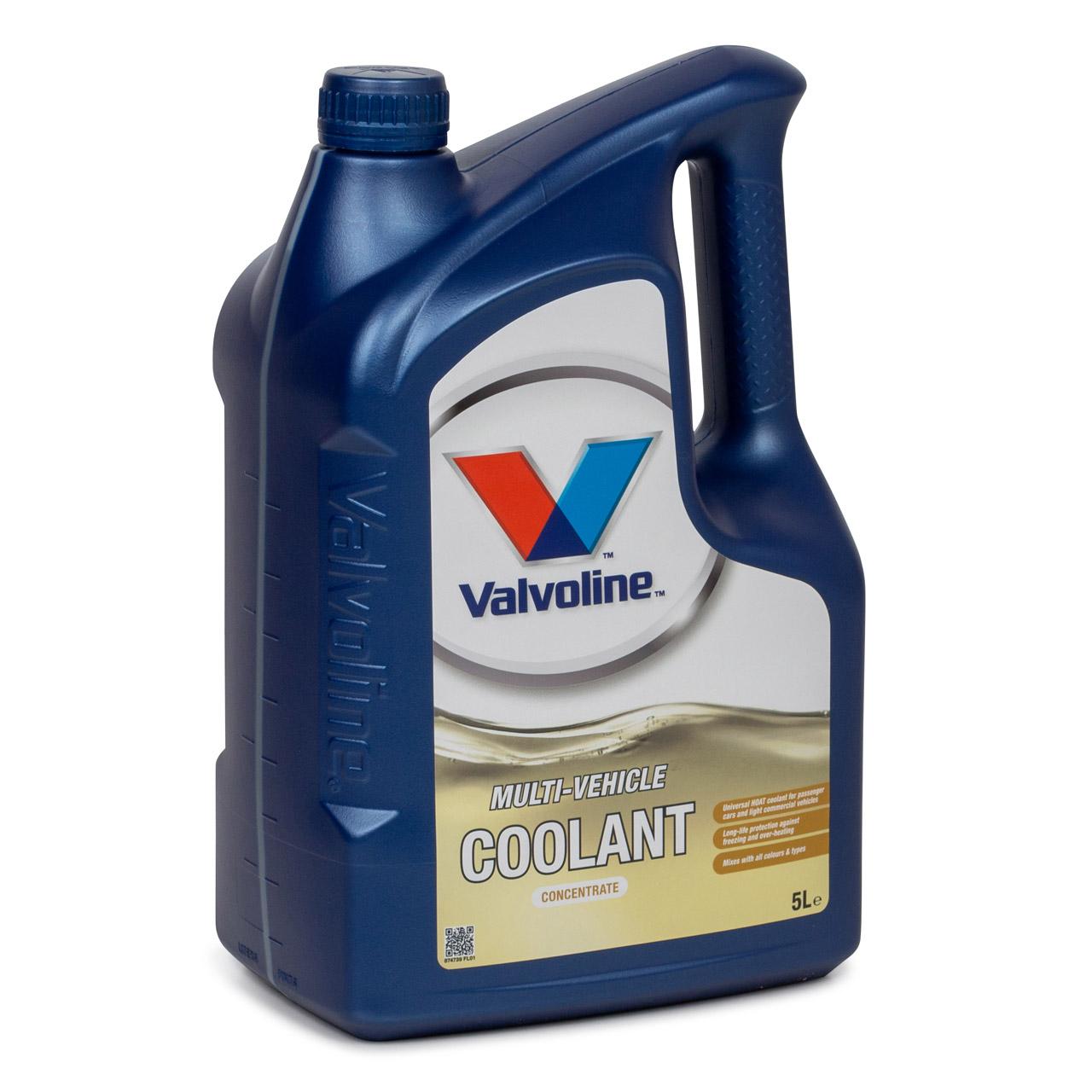 VALVOLINE Frostschutz MULTI-VEHICLE COOLANT Konzentrat - 5L 5 Liter