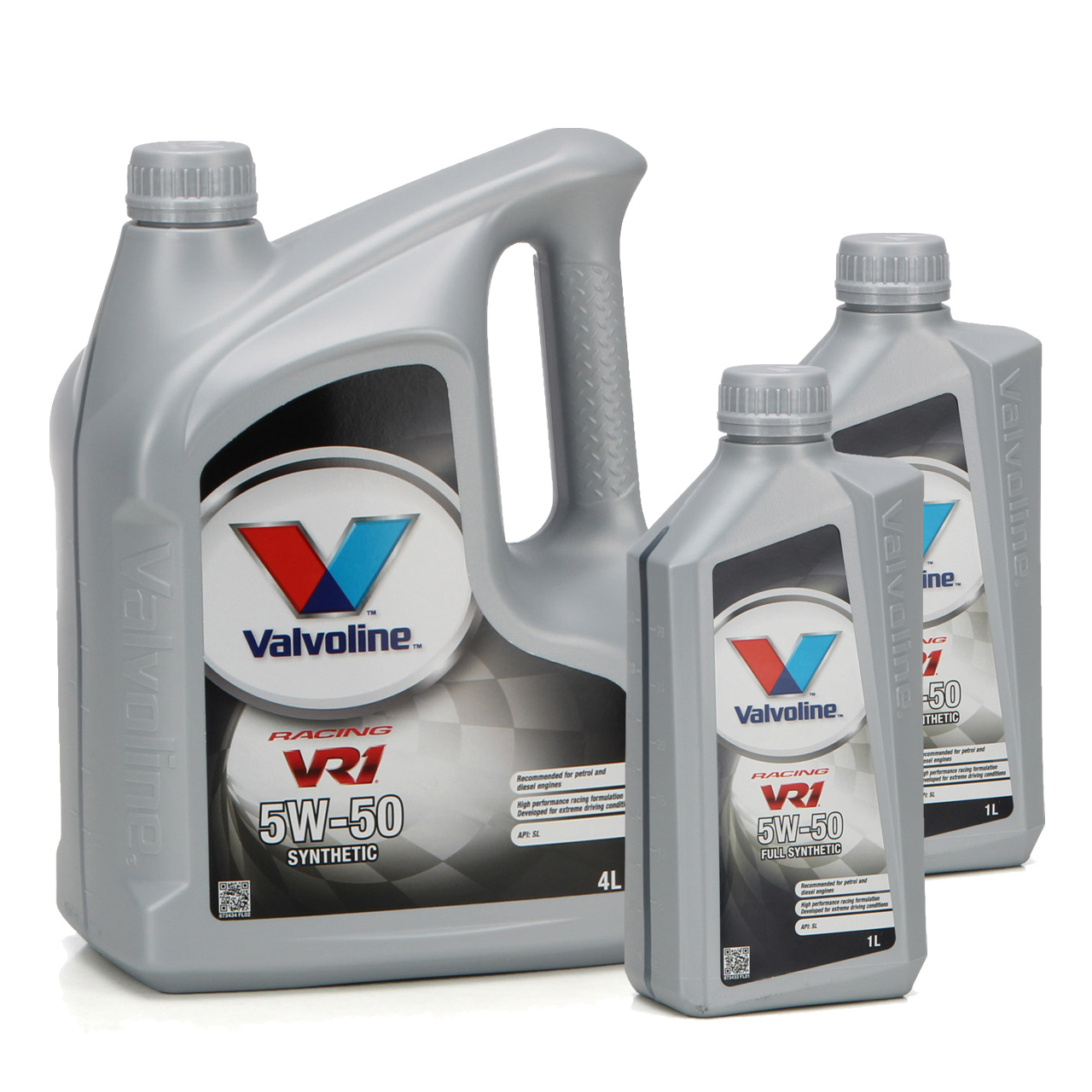 VALVOLINE Motoröl ÖL VR1 RACING 5W50 SM A3/B4 Ford M2C-153E GM 6094M - 6 Liter