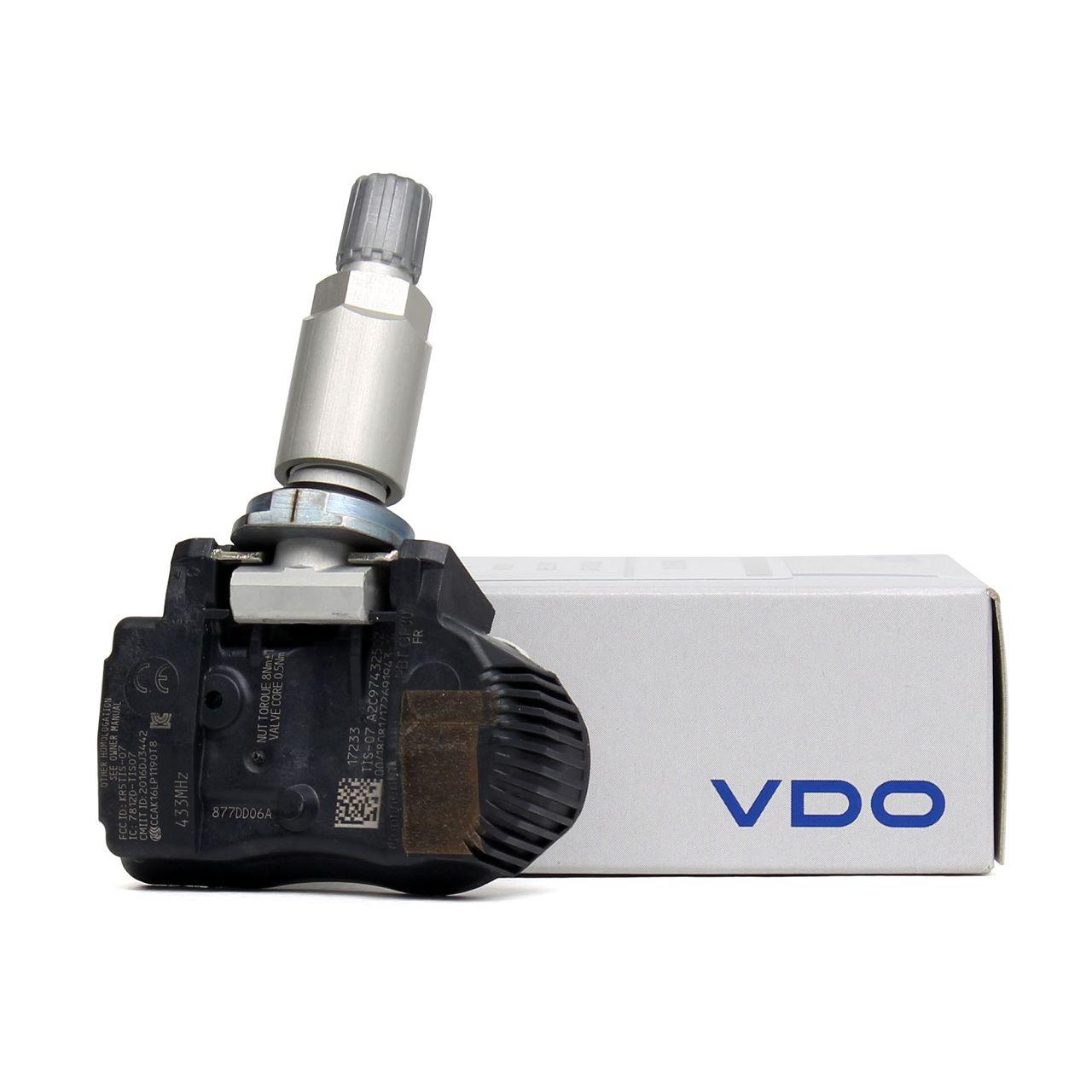 VDO Reifendrucksensor Luftdrucksensor RDKS für BMW F20 F21 F22 F45 F30 F31
