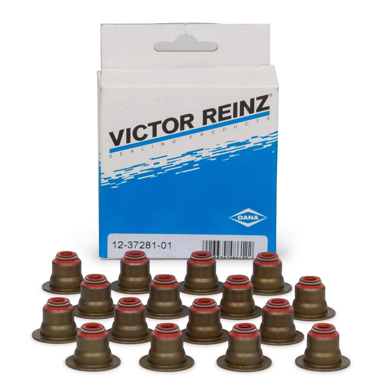 16x REINZ Ventilschaftabdichtung 6mm für BMW N40 N42 N45 N46 N62 N63 S63 M67 11340029751