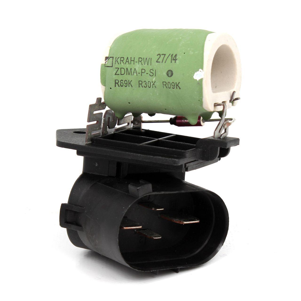 Widerstand Steuergerät Elektromotor-Kühlerlüfter OPEL Meriva A 1341721 / 93175501