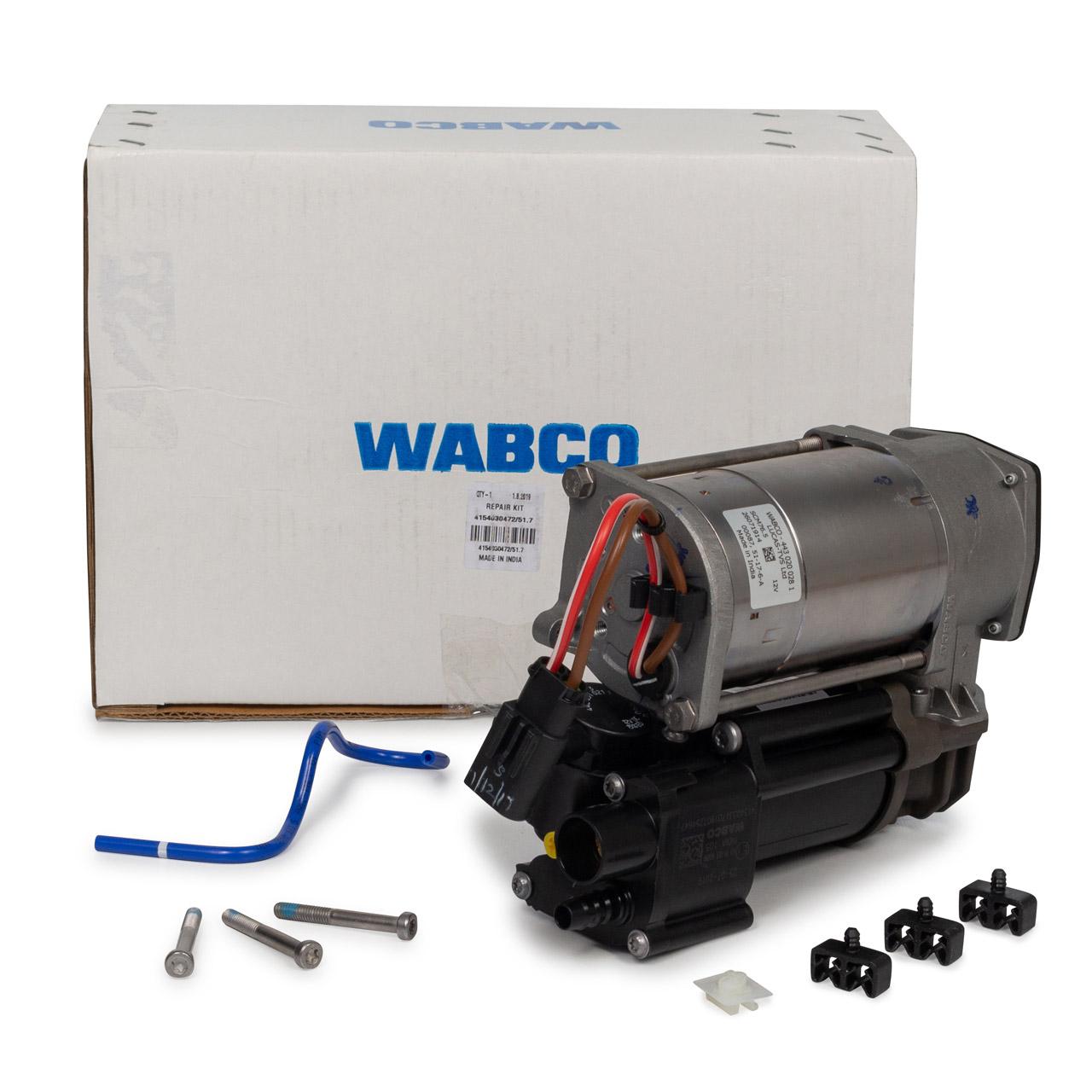 WABCO Kompressor Luftfederung Luftkompressor BMW X5 F15 F85 X6 F16 F86 37206875177
