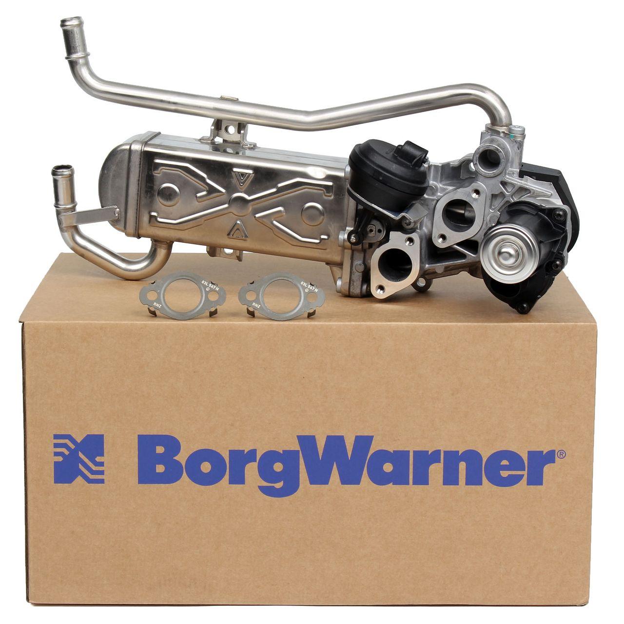 WAHLER AGR Ventil + Kühler + Dichtungen SEAT Ibiza 4 SKODA Fabia 2 VW Polo 6R 6C 1.2 TDI