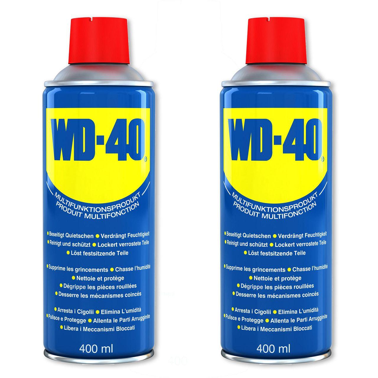 WD-40 49004 Multifunktionsspray Multifunktionsöl Kontaktspray Kriechöl 2x 400ml