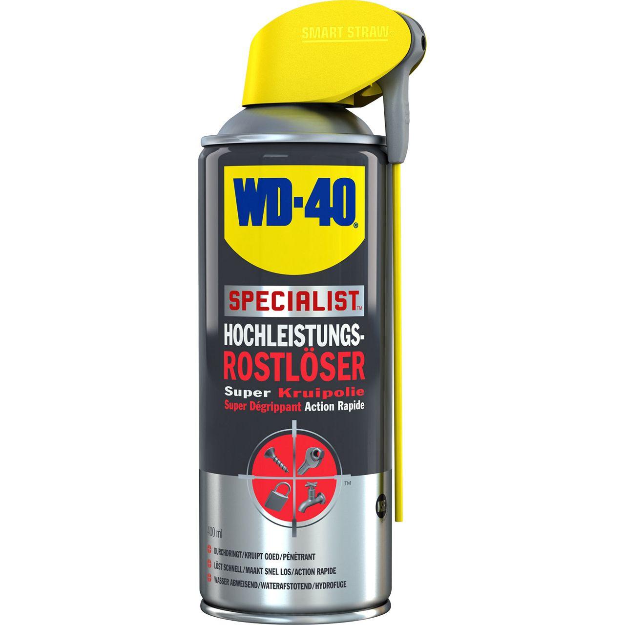WD-40 SPECIALIST 49348 Rostlöser Hochleistungsrostlöser für SMART STRAW 400ml