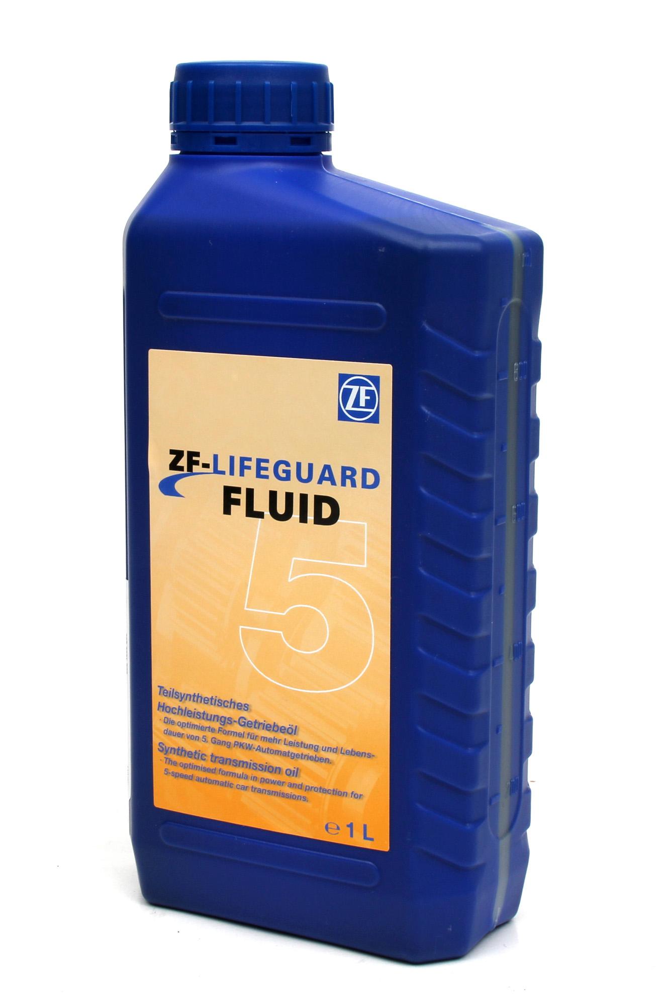 ZF PARTS Getriebeöl Automatikgetriebeöl LifeGuard FLUID 5 HP 1 Liter