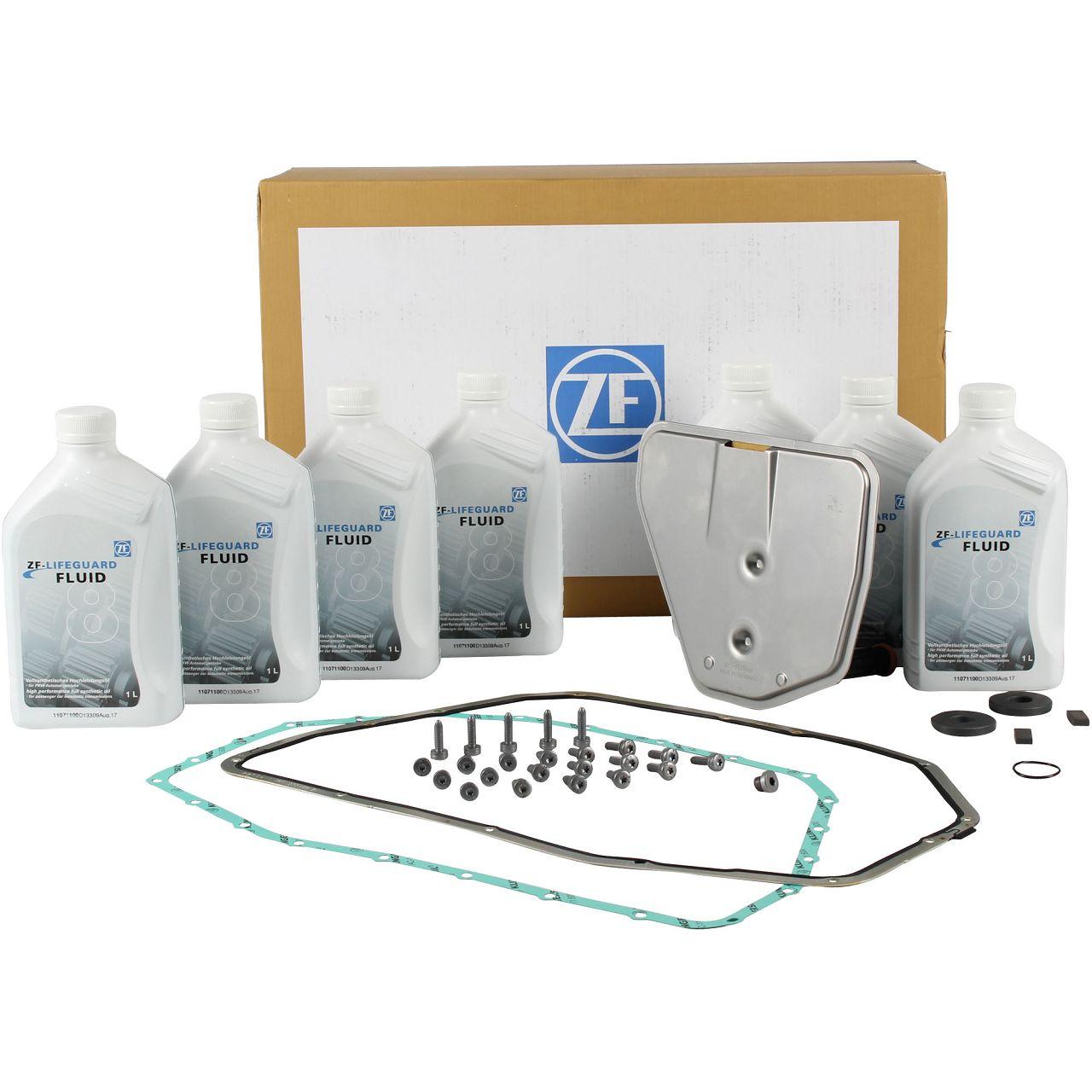 ZF Ölwechsel Satz 6-Gang Automatikgetriebe AUDI A4 B7 A6 C6 A8 4E VW Phaeton 3D