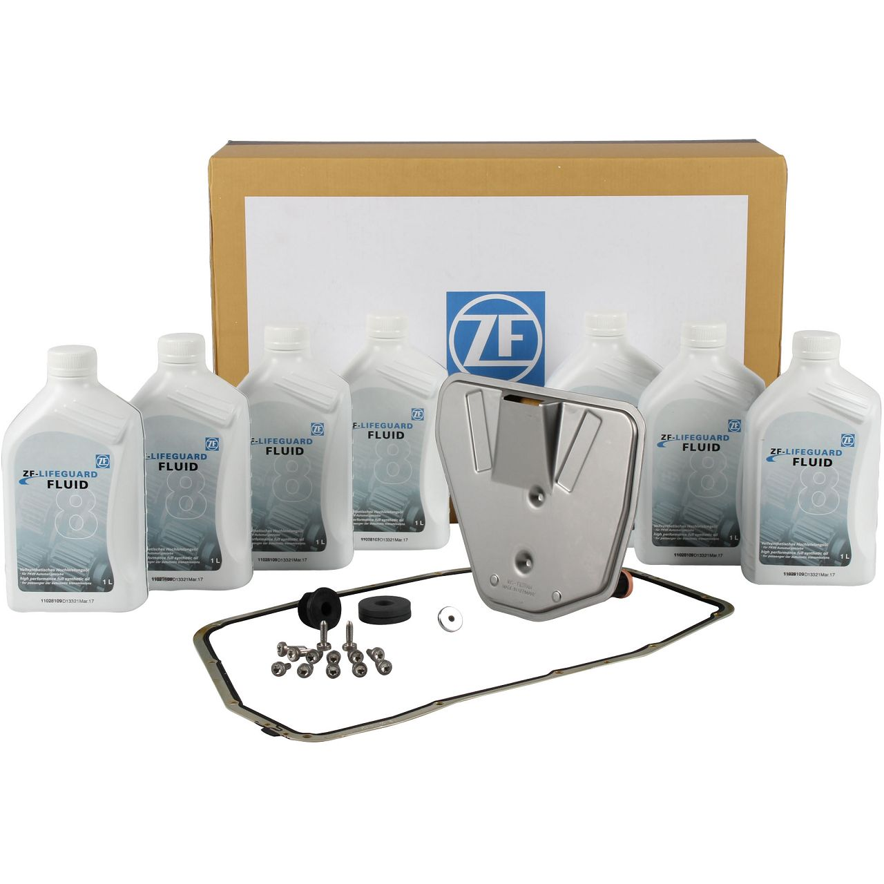 ZF Ölwechsel Satz Automatikgetriebe 6HP28 AF für AUDI A4 8K B8 A5 8T 8F Q5 8R