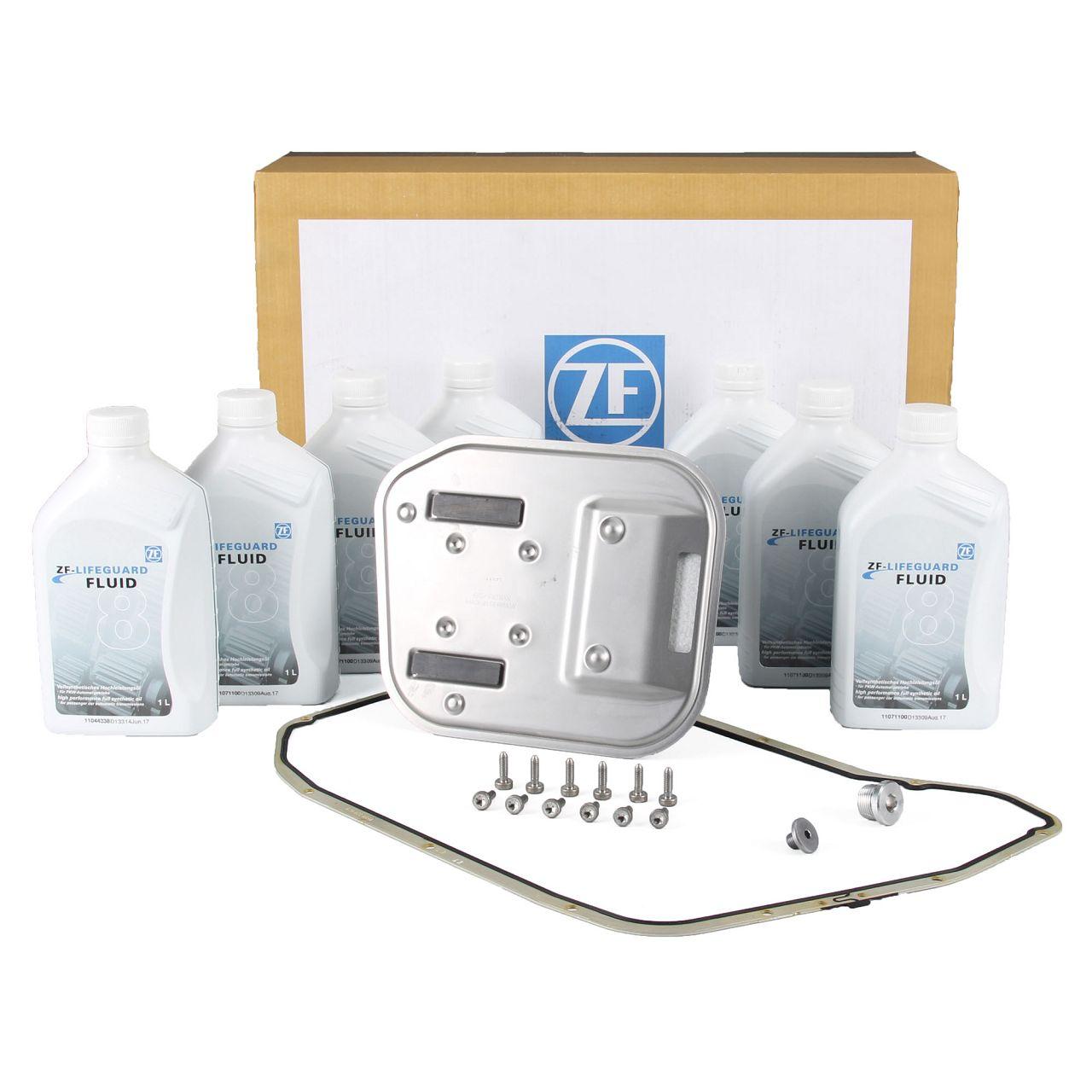 ZF Ölwechsel Satz 8-Gang Automatikgetriebe für AUDI A4 B7 B8 B9 A5 C5 C6 C7 A6