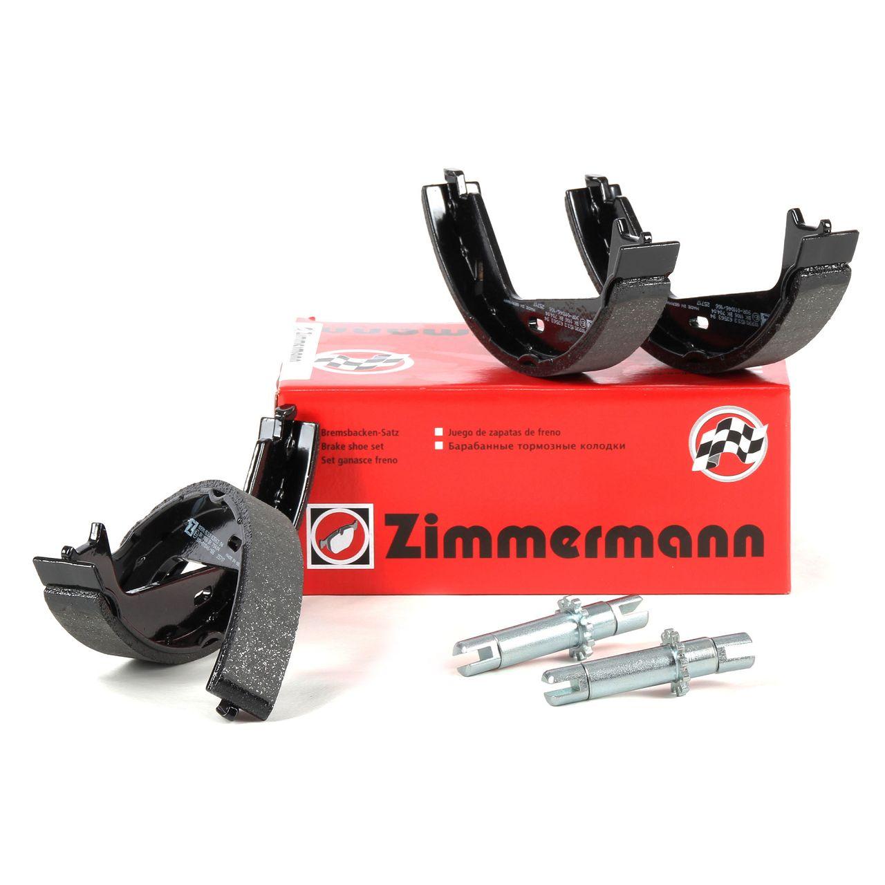 ZIMMERMANN Bremsbacken + Nachsteller Satz VOLVO S80 I V70 II XC90 XC70 Cross Country