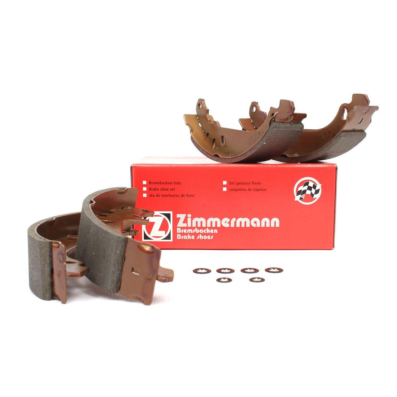 ZIMMERMANN Bremsbacken Satz RENAULT 11 19 21 9 Clio 1 2 Rapid Super 5 Twingo 1