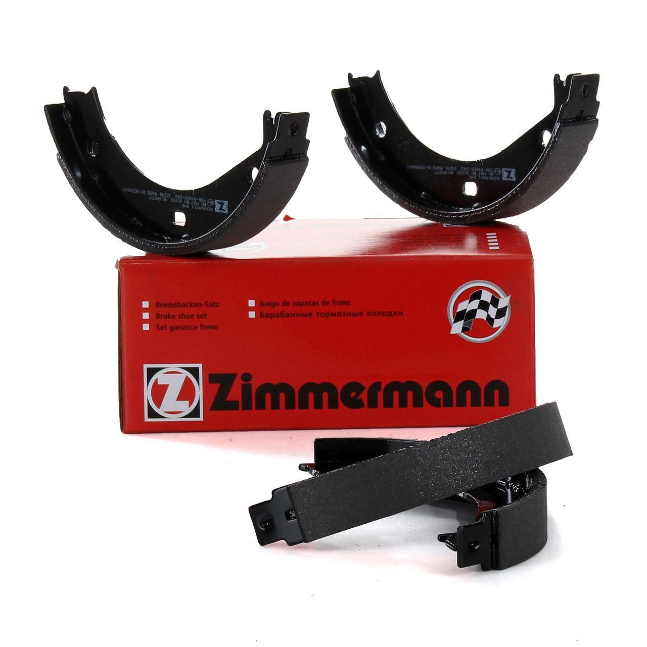 ZIMMERMANN Bremsbacken Satz BMW E36 E28 E34 E24 E23 E32 E38 E31 Z3 E36 Z8 E52