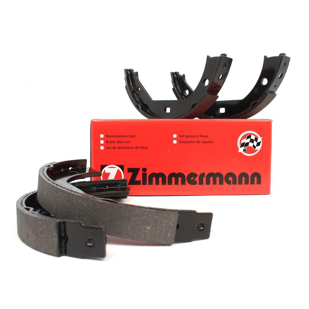 ZIMMERMANN Bremsbacken Satz BMW E81 E87 E88 E82 E46 E90-93 F30-36 E39 X1 E84