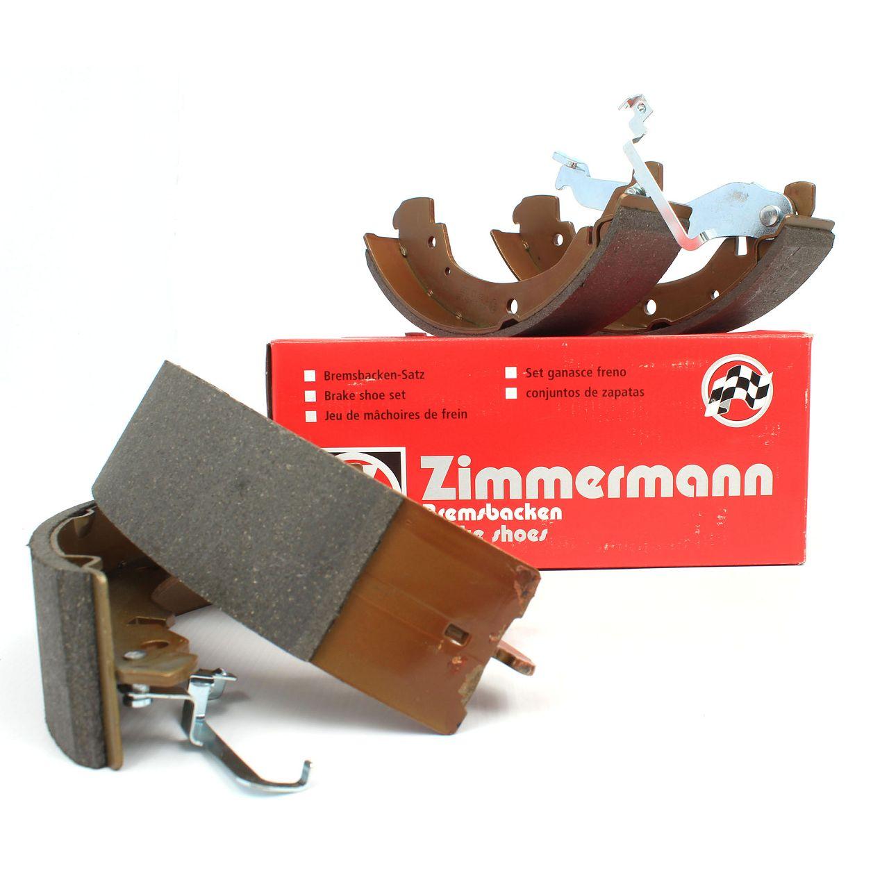 ZIMMERMANN Bremsbacken Satz VW Transporter T4 bis Fgst.Nr. 70-ZT-199 999