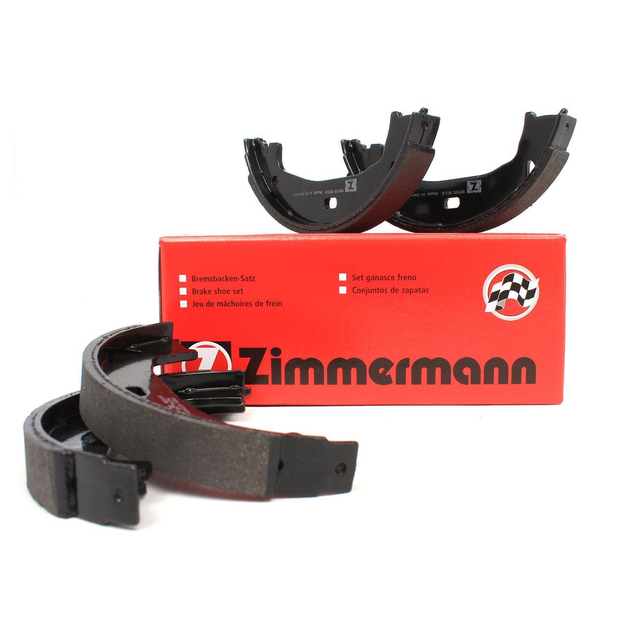 ZIMMERMANN Bremsbacken Satz BMW E81 E87 E88 E82 F20-23 E46 E90 E92 E91 F30-36