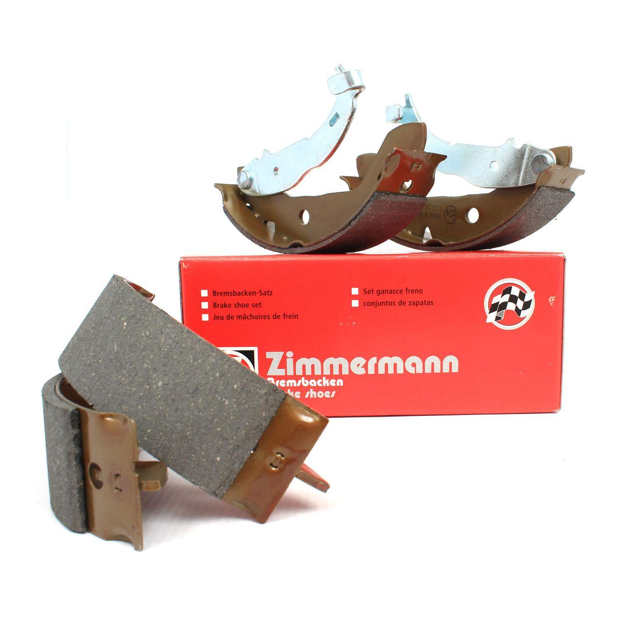 ZIMMERMANN Bremsbacken Satz MERCEDES A-Klasse W168 A140 A160 A160CDI A170CDI