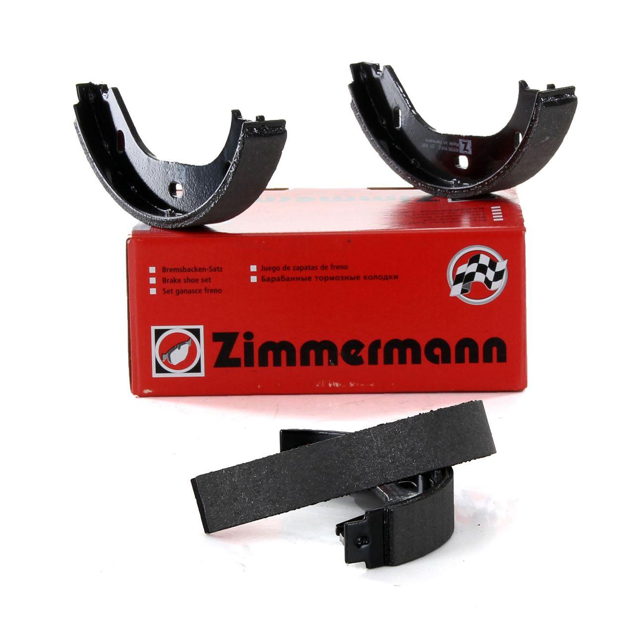 ZIMMERMANN Bremsbacken Satz ALFA ROMEO Giulietta Alfetta 116 BMW E21 E30 E12 E24 E23 2000