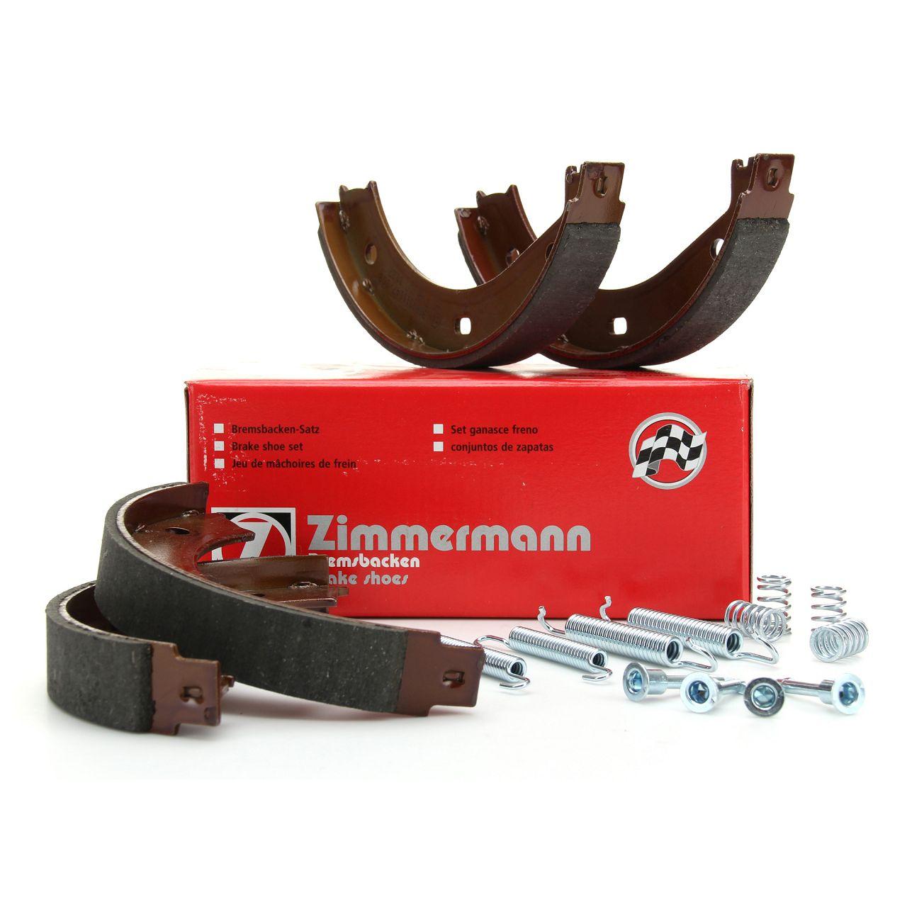 ZIMMERMANN Bremsbacken + Zubehör Satz BMW E36 E28 E34 E24 E23 E32 E38 E31 Z3 Z8