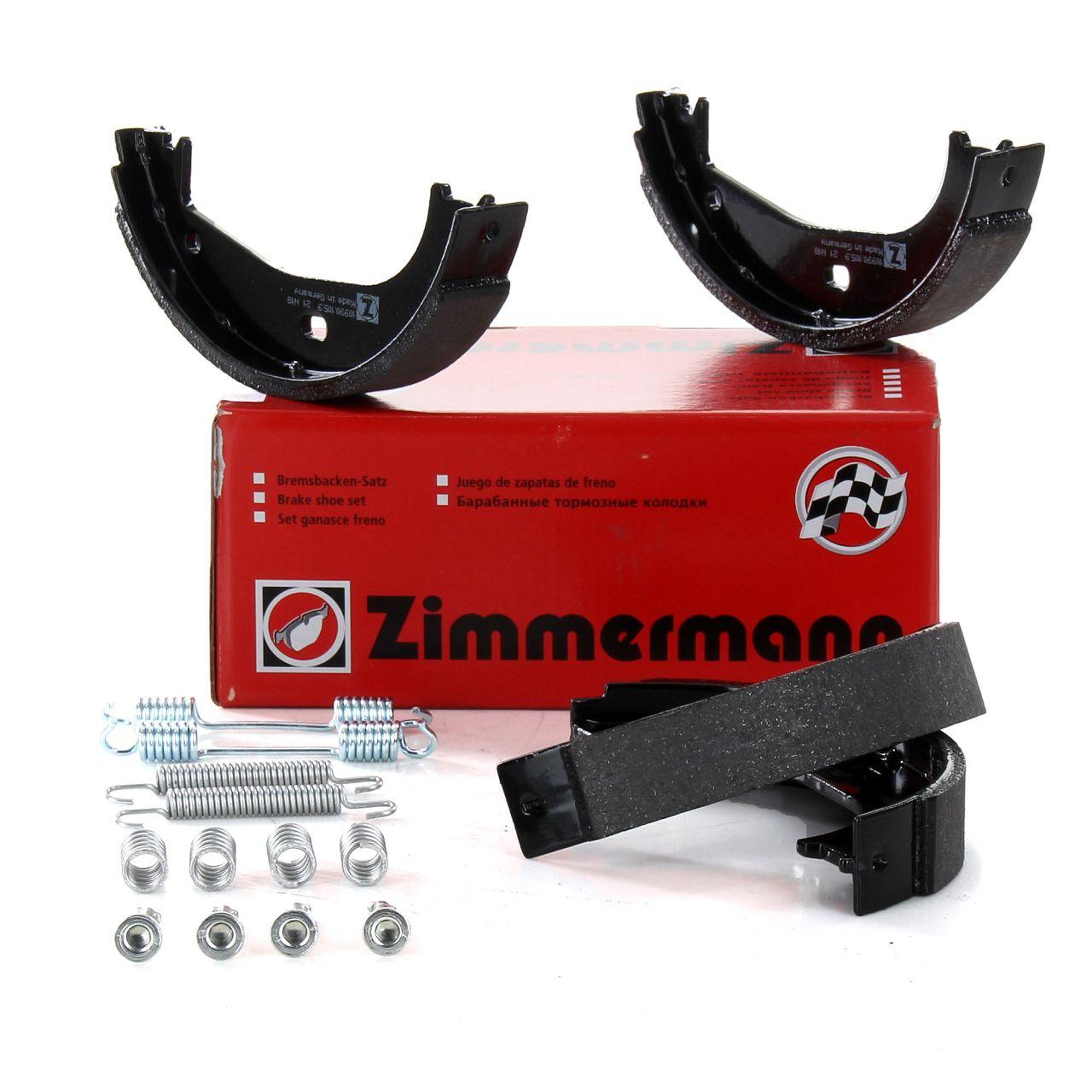 ZIMMERMANN Bremsbacken + Zubehör Satz BMW E36 316-328i 318/325tds Z1 Z3 1.8-3.0
