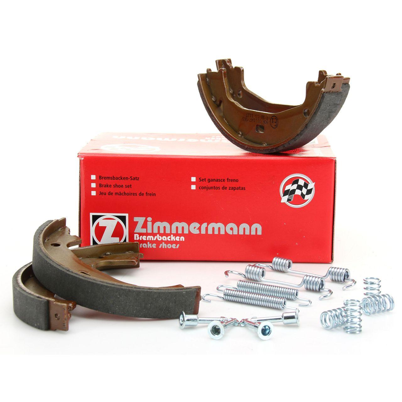 ZIMMERMANN Bremsbacken + Zubehör Satz BMW E81-88 F20/21 F22/23 E46 E90-92 F30-34 F32-36