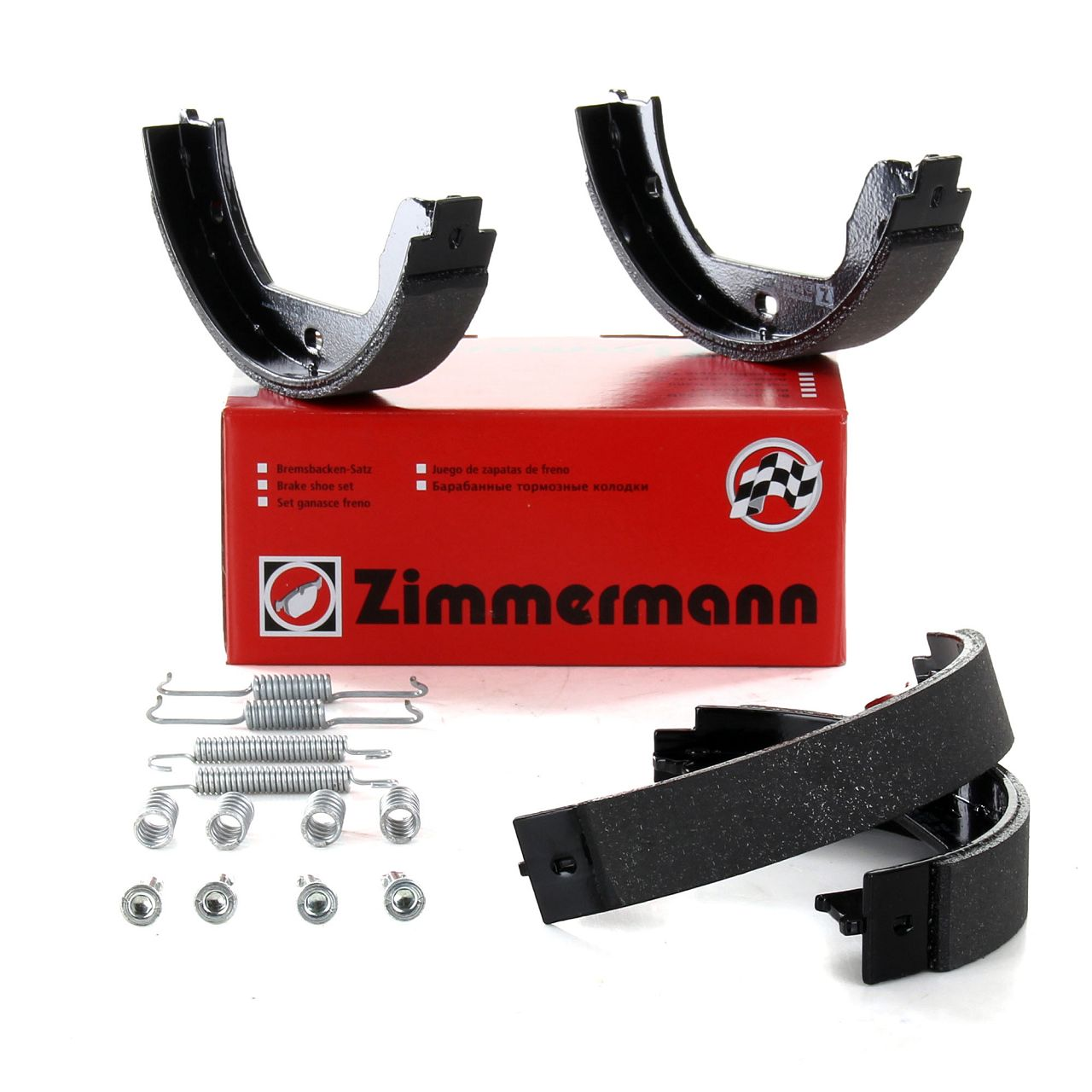 ZIMMERMANN Bremsbacken + Zubehör Satz BMW E46 E39 E60-67 X3 X5 X6 VW Touareg T5