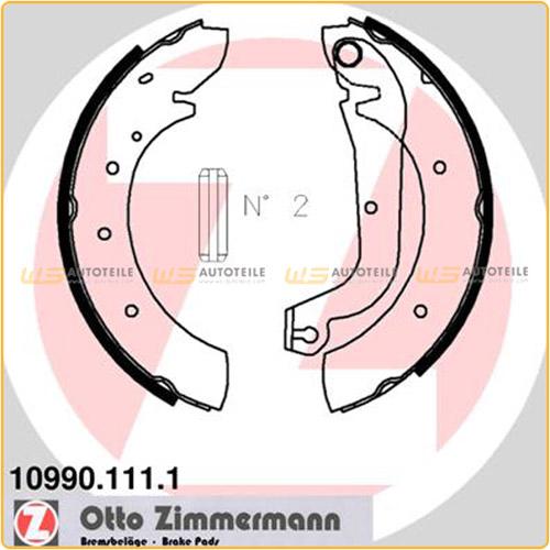 ZIMMERMANN Bremsbacken für Fiat Ducato (280 290) Nissan Serena Vanette Cargo