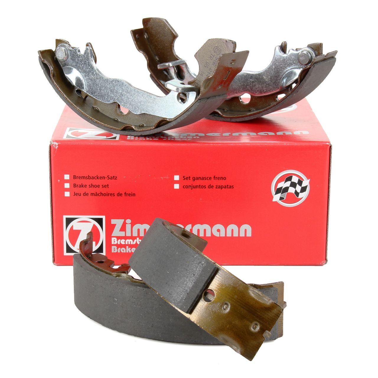 ZIMMERMANN Bremsbacken Satz FORD Focus 1 MK1 1.4-2.0 16V 1.8TDCi ohne ABS