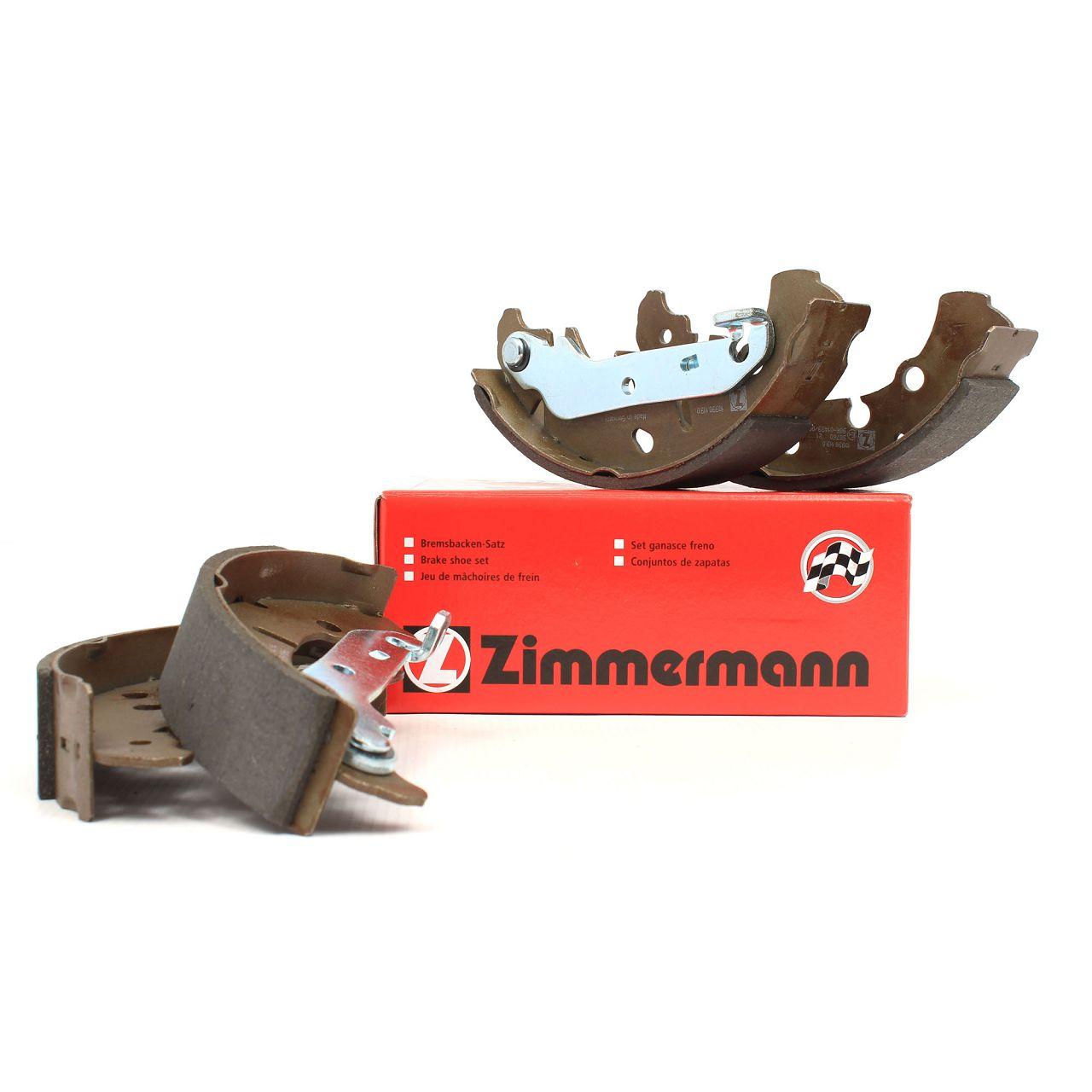 ZIMMERMANN Bremsbacken Satz FORD Fiesta 4 5 Fusion KA Puma MAZDA 121 III 2 (DY)