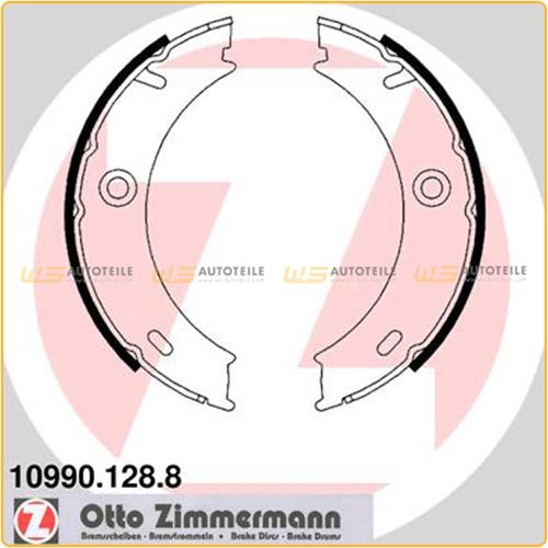 ZIMMERMANN 109901288 Bremsbacken Satz MERCEDES-BENZ Sprinter 904 4-t Vario VW LT28-46 2