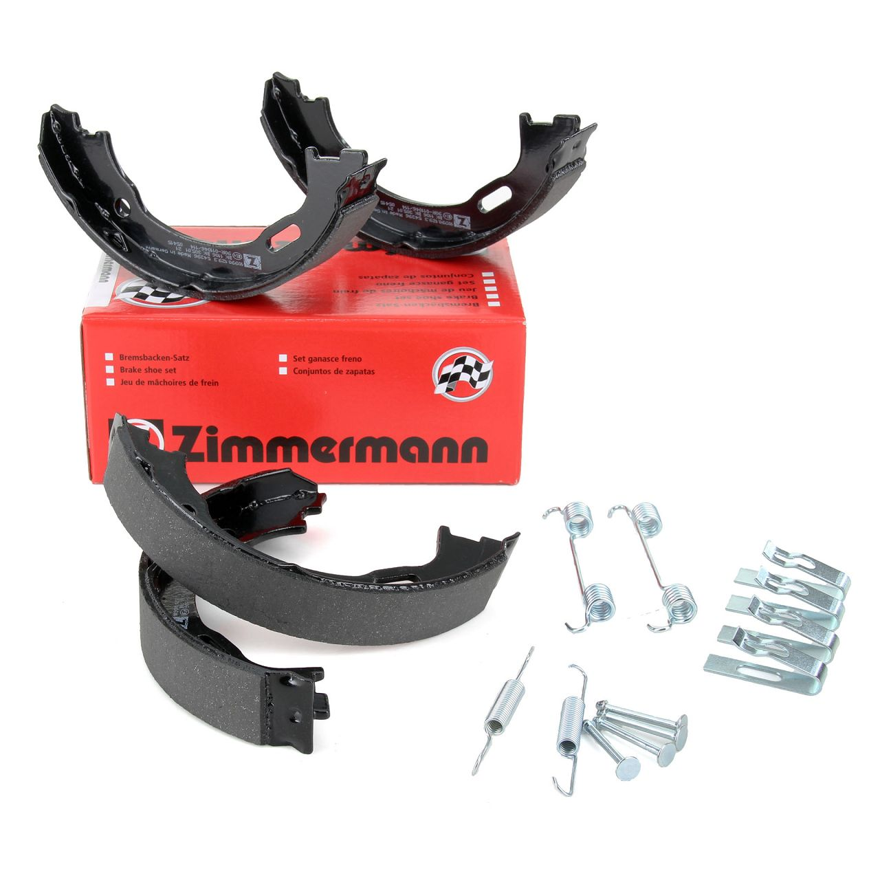 ZIMMERMANN Bremsbacken + Zubehör Satz MERCEDES M-Klasse W163 ML230-55AMG ML270/400CDI