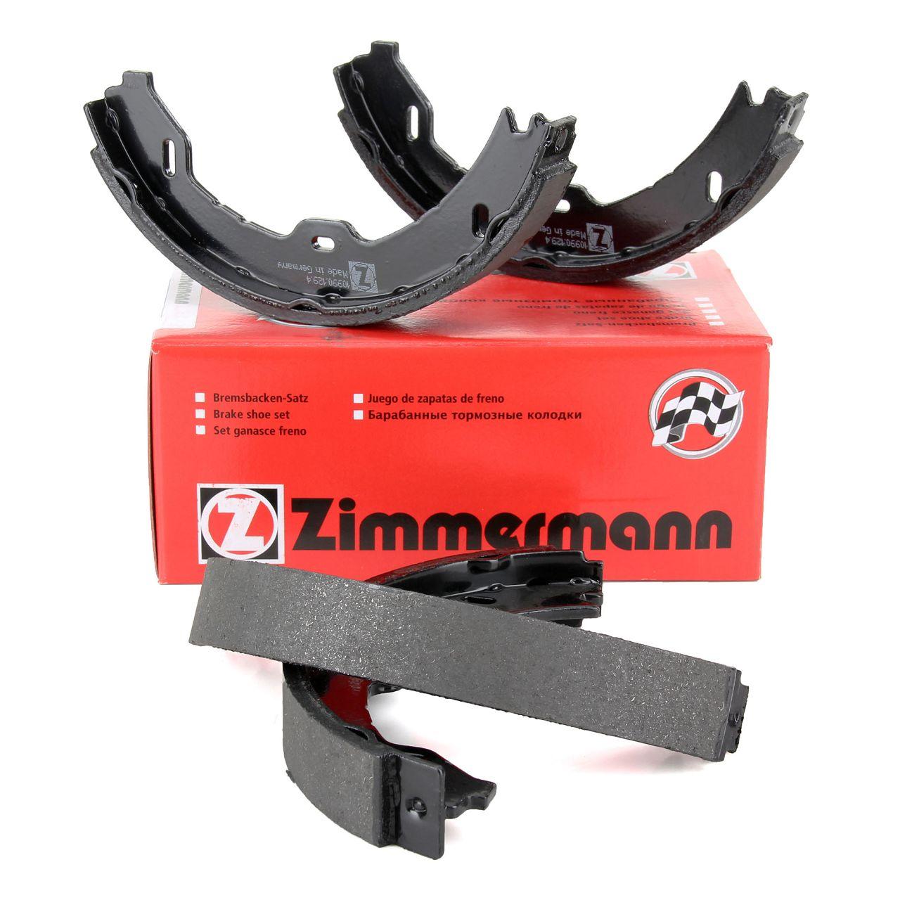 ZIMMERMANN Bremsbacken Satz MERCEDES CLS C219 E-Klasse W211 S211 SL R230