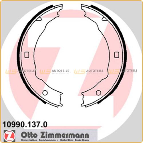 ZIMMERMANN Bremsbacken Satz für Peugeot 406 (8B 8C 8E/F) 607 (9D, 9U)