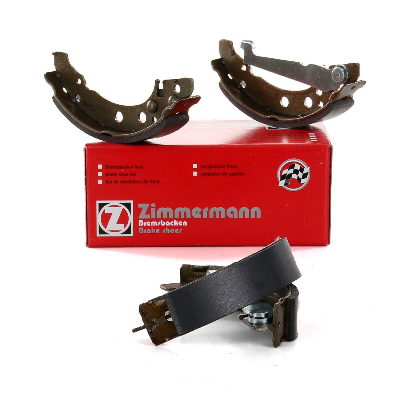 ZIMMERMANN Bremsbacken Satz VW Lupo 1.2TDI 3L 61 PS ohne ABS 07.1999-07.2005