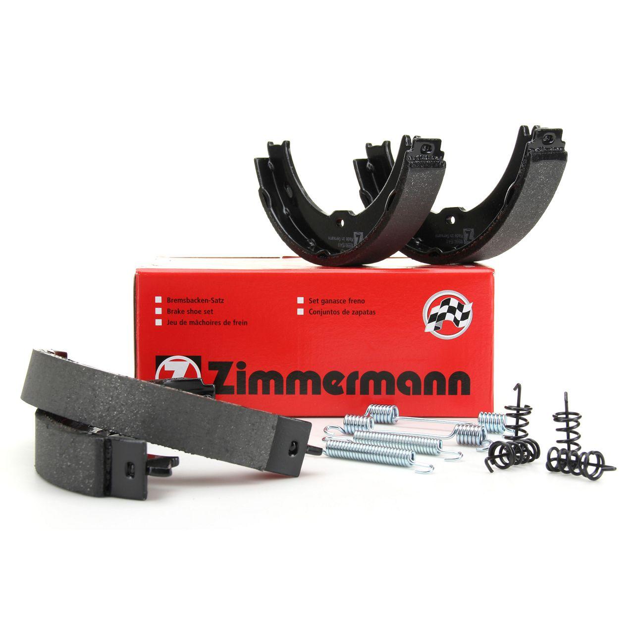 ZIMMERMANN Bremsbacken + Zubehör Satz MERCEDES Sprinter 3-t 3,5-t (906) ab 06.2006
