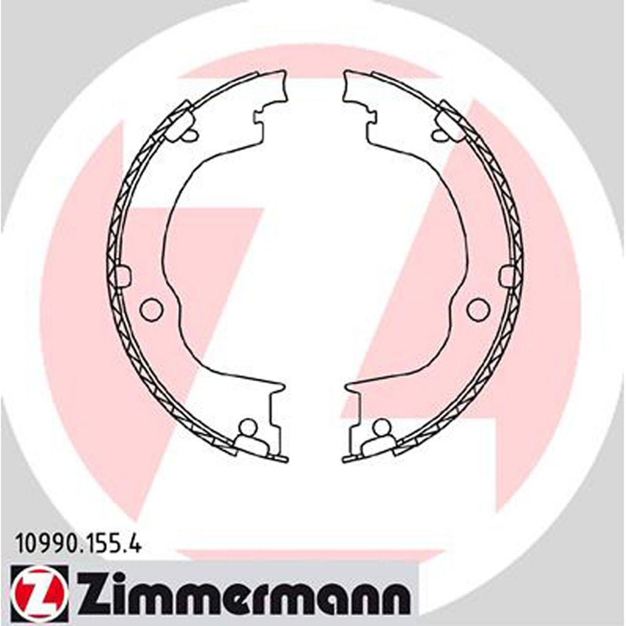 ZIMMERMANN Bremsbacken für Chevrolet Captiva ab 06.2006 Opel Antara ab 05.2006