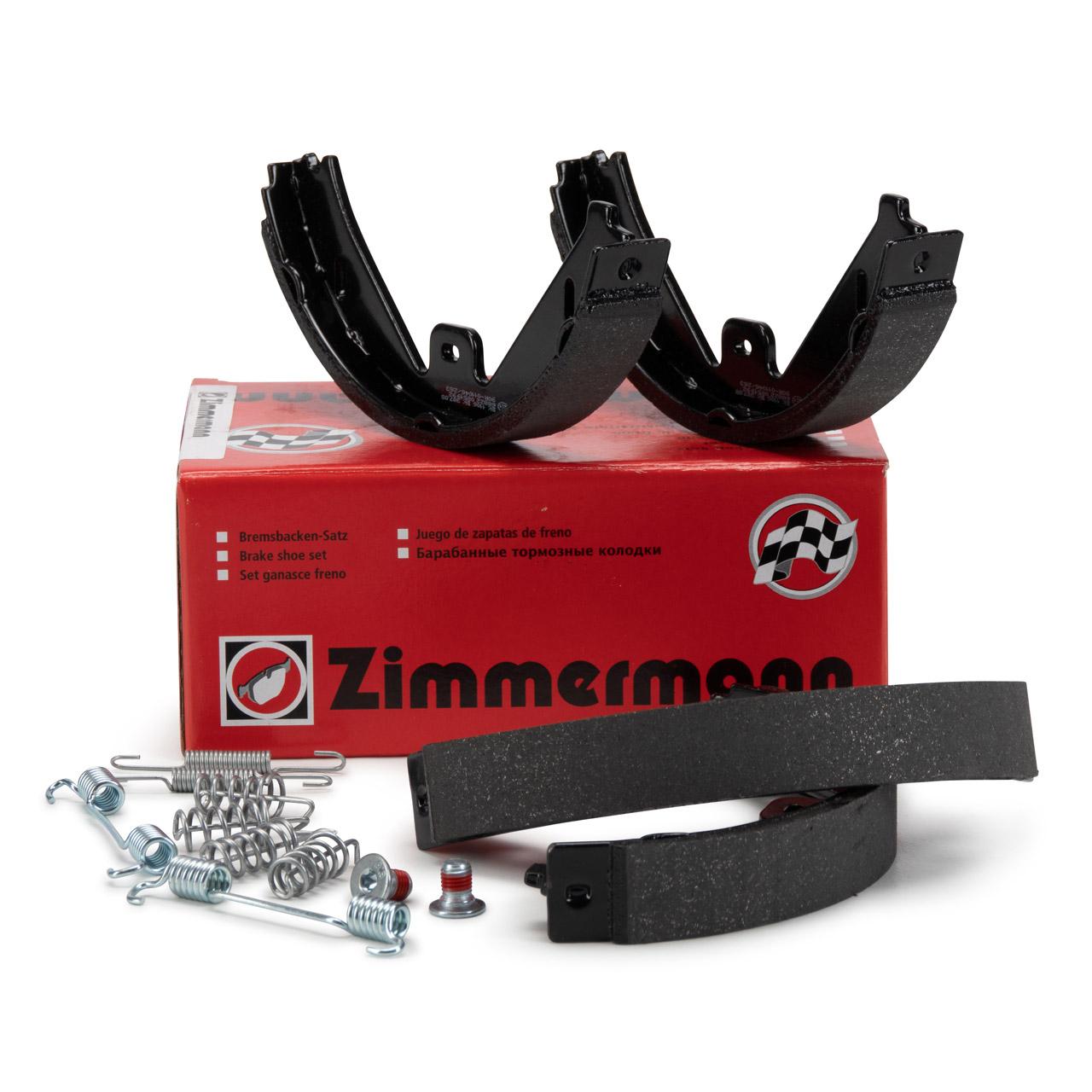 ZIMMERMANN Bremsbacken + Zubehör Satz MERCEDES CLS C218 X218 E-Klasse W212 S212 X204