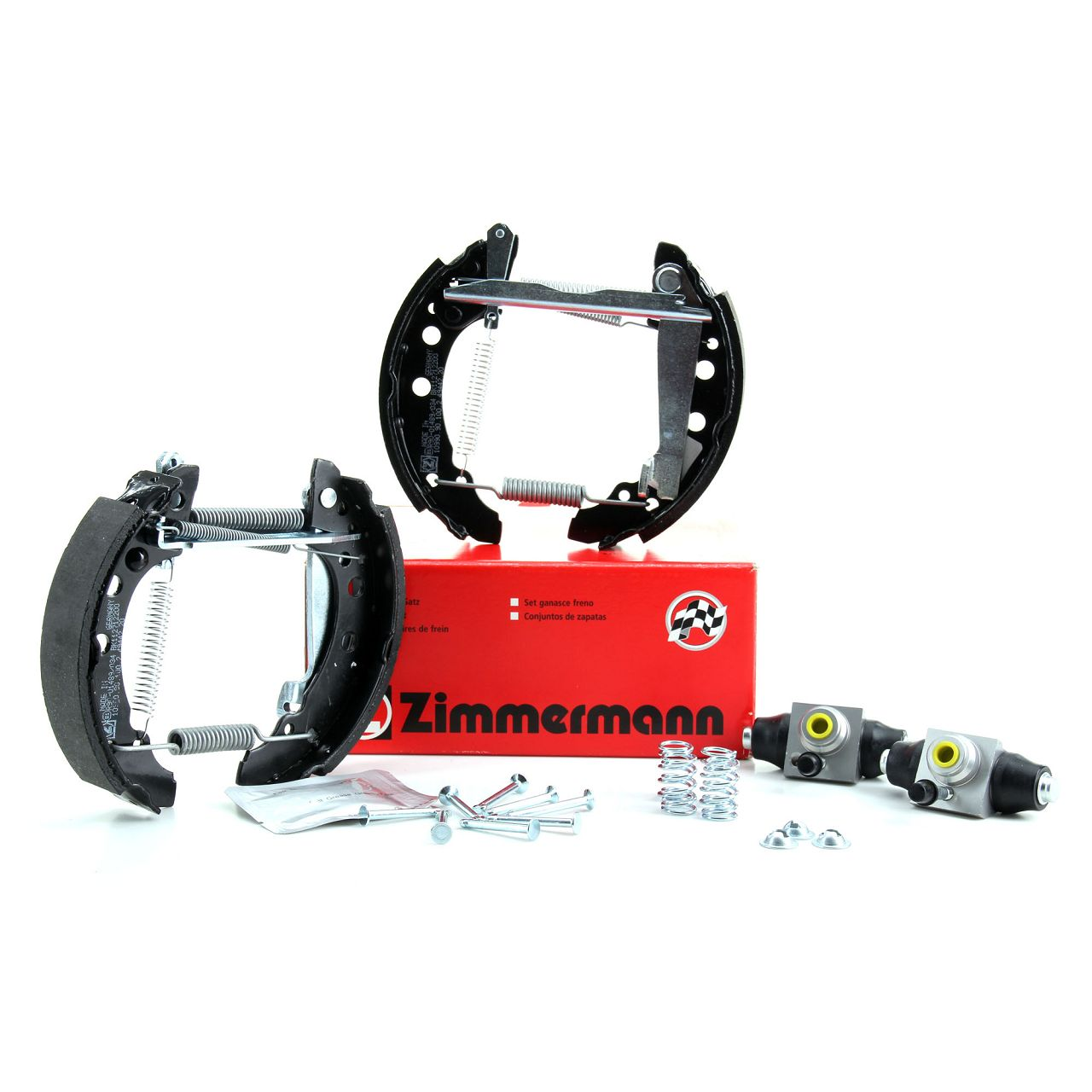 ZIMMERMANN Bremsbacken + Radbremszylinder Satz AUDI A80 SEAT Arosa VW Golf 1 2