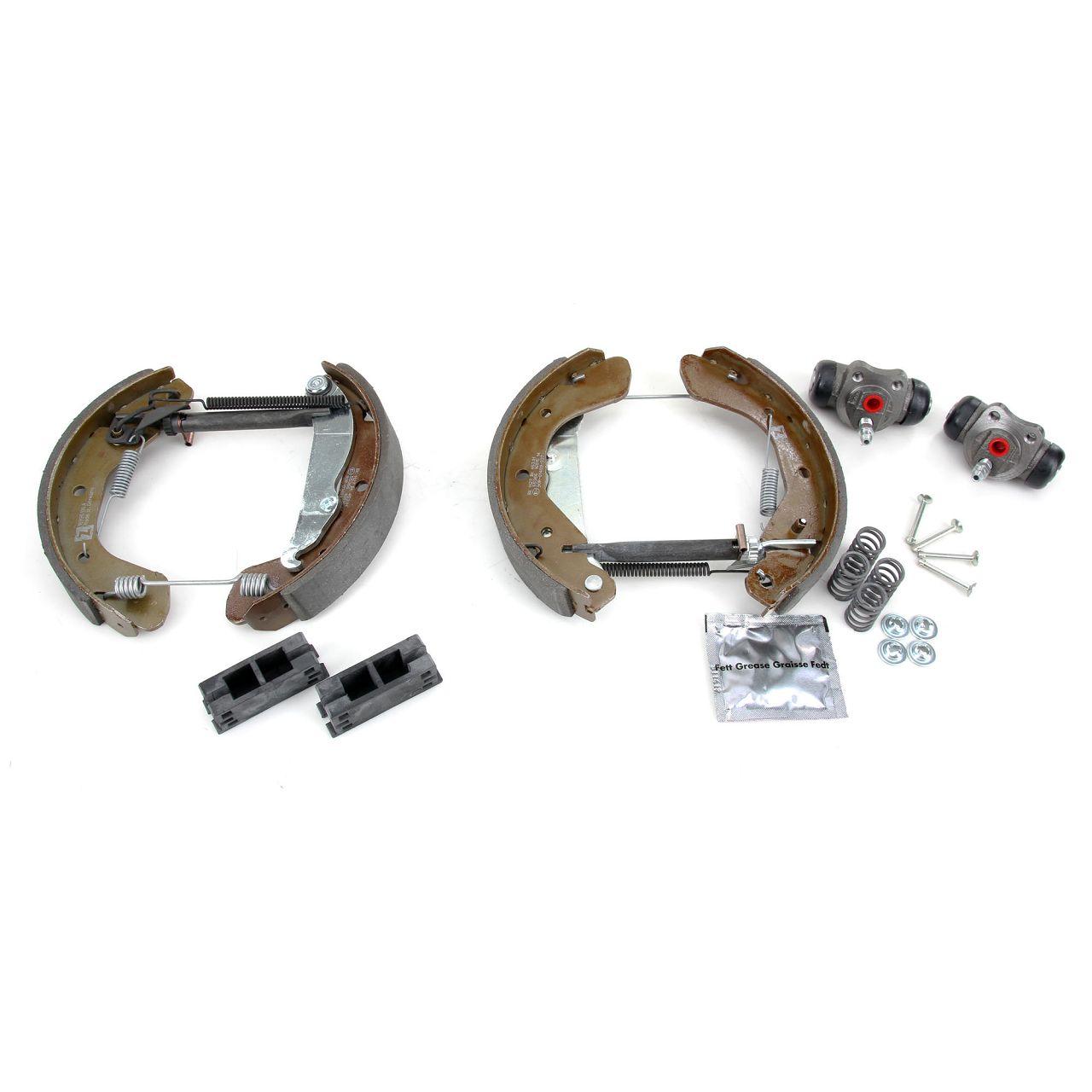 ZIMMERMANN Bremsbacken + Radbremszylinder Satz OPEL Astra F / CC Corsa B Tigra A